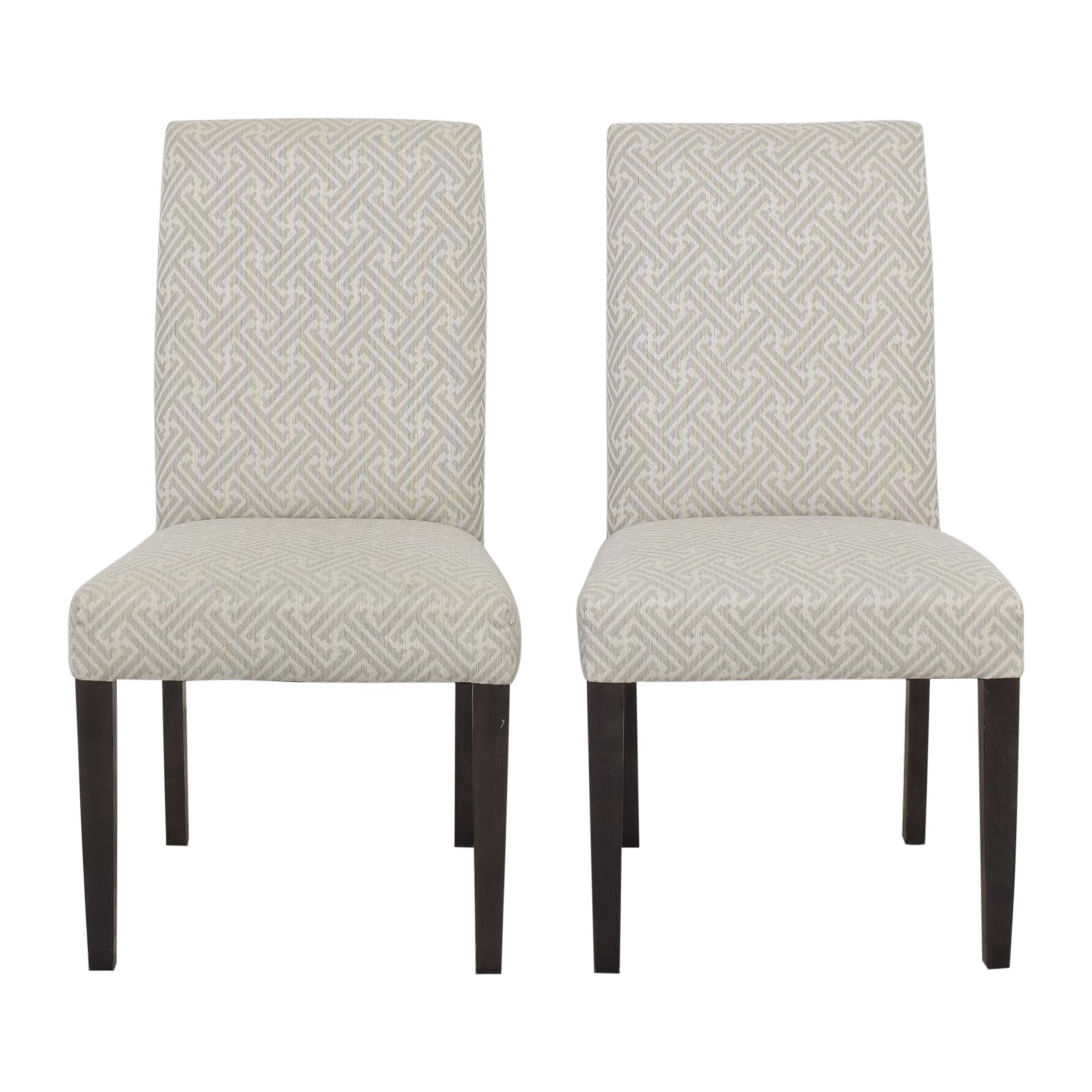 Bassett Furniture Bassett Custom Upholstered Dining Chairs nj