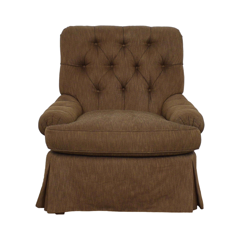 Custom Upholstered Accent Chair nj