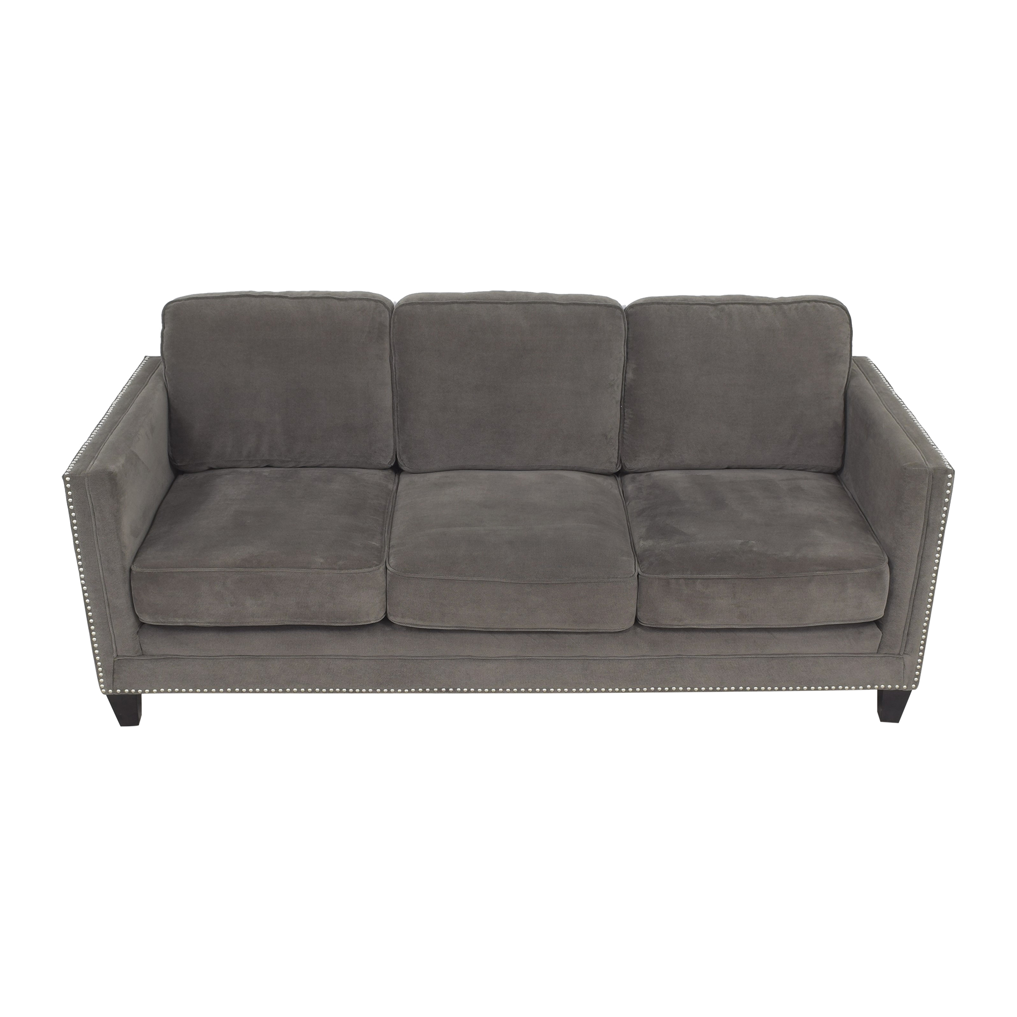 shop AllModern Nailhead Trim Sofa AllModern