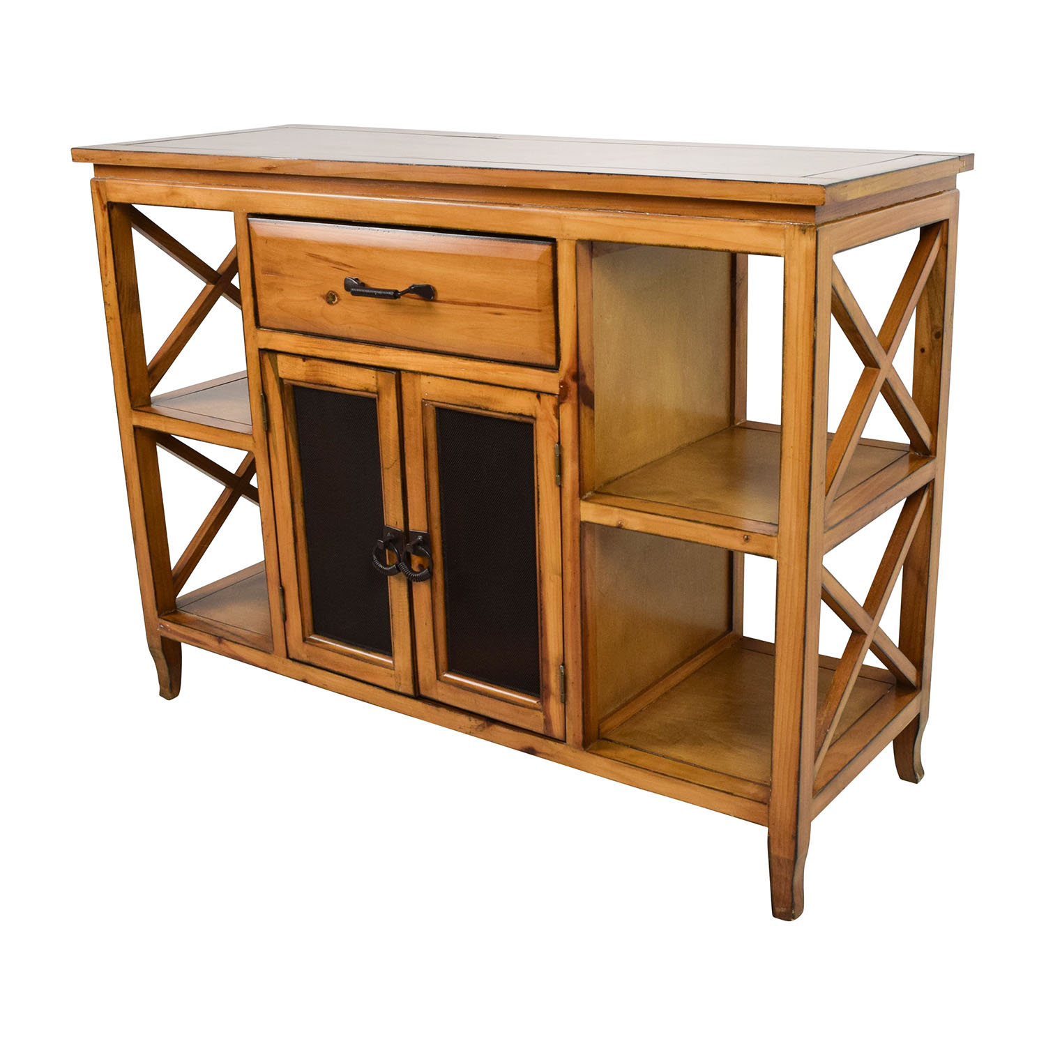 cabinet store 75 brown wooden entrance table storage 13057