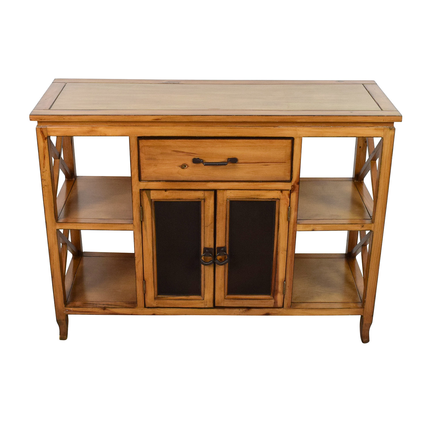 shop Brown Wooden Entrance Table Storage