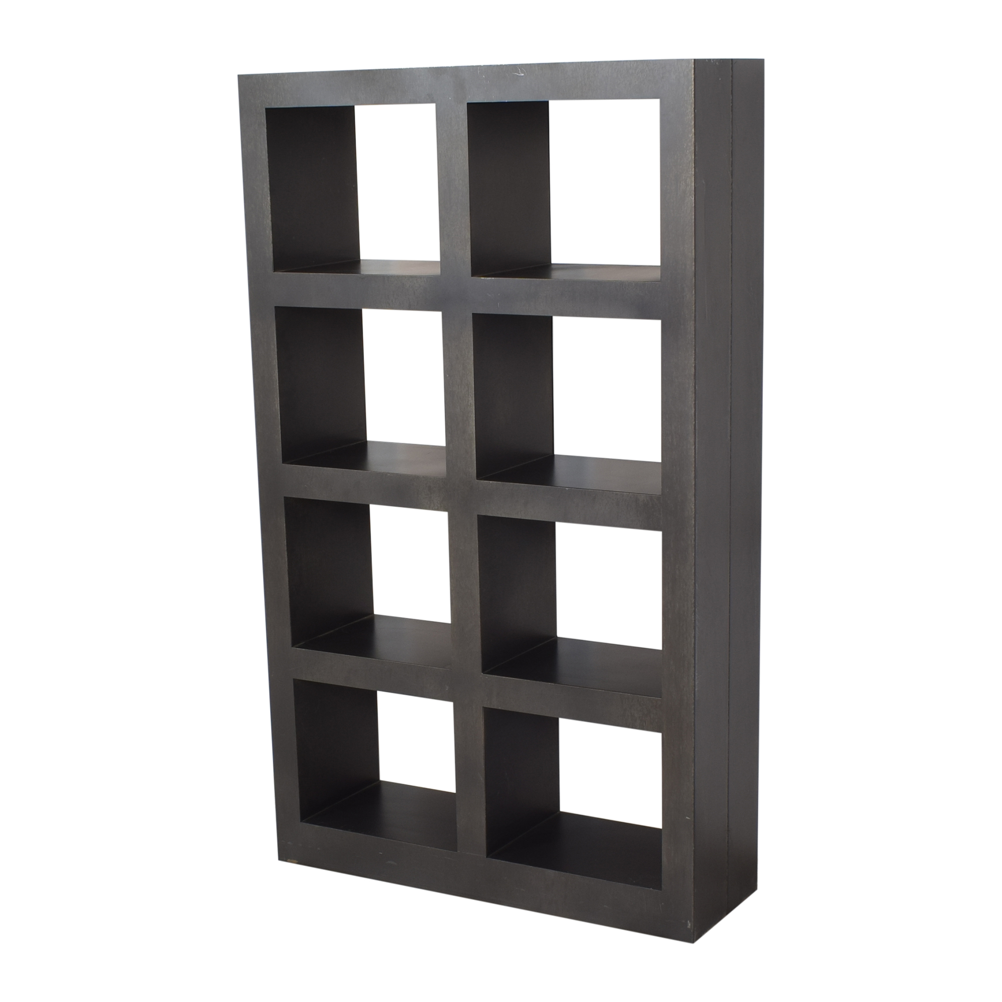 buy Crate & Barrel Shadow Box Tower Crate & Barrel Bookcases & Shelving