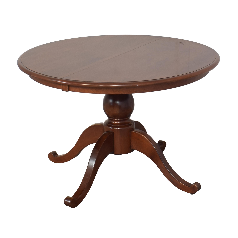 buy Nichols & Stone Extendable Pedestal Dining Table Nichols & Stone Tables