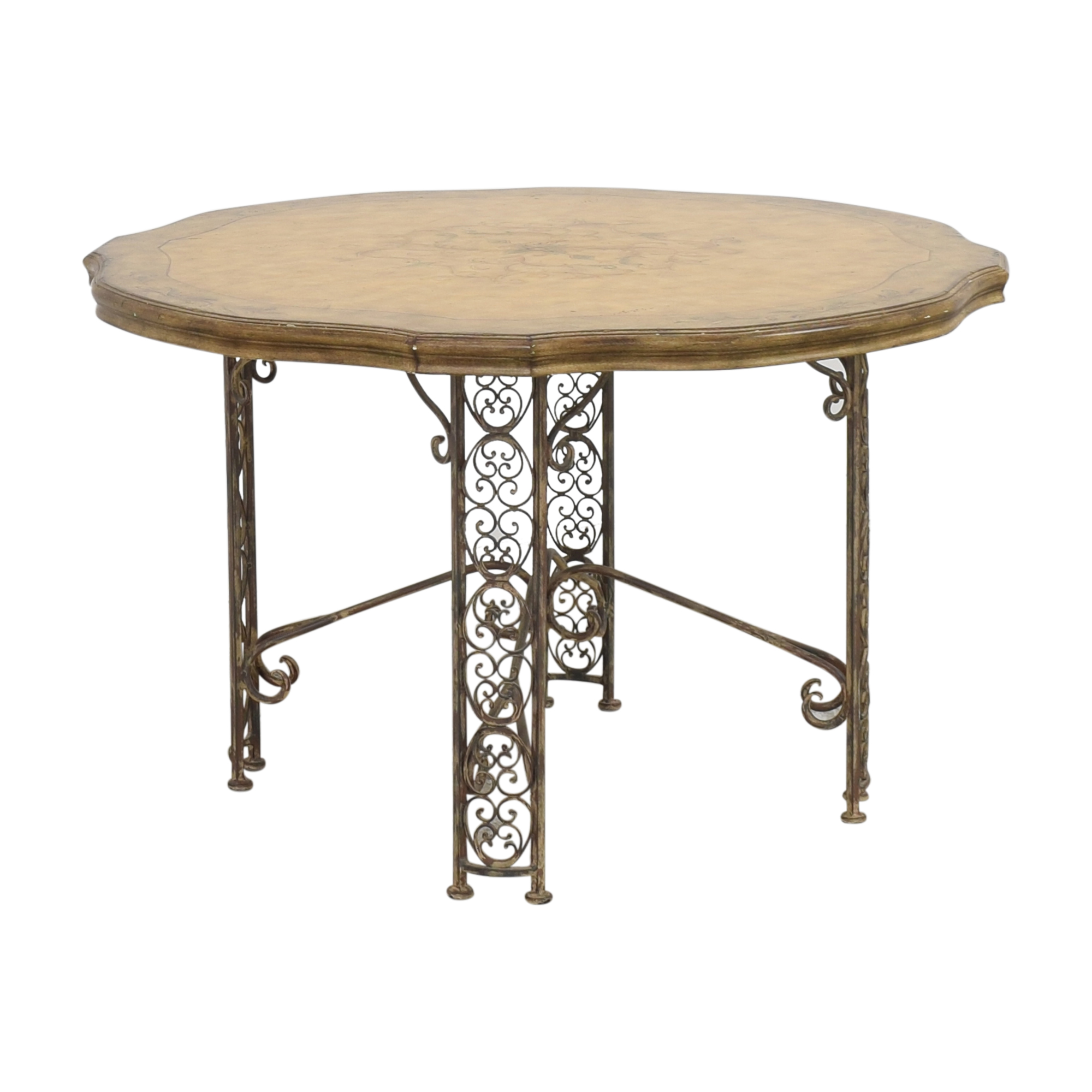 Domain Domain Decorative Round Dining Table dimensions