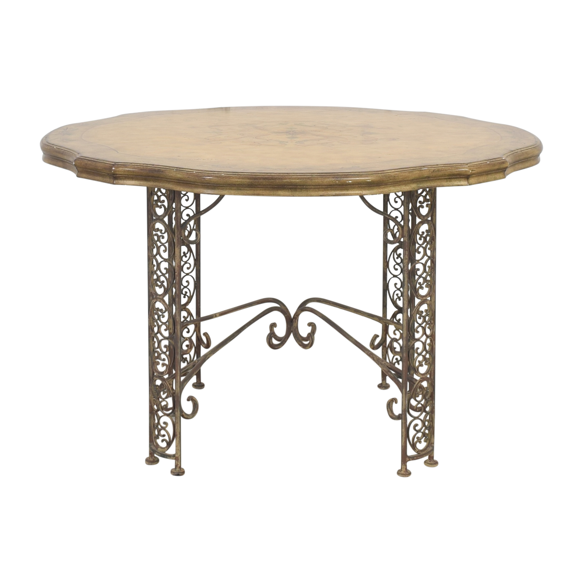 Domain Decorative Round Dining Table / Tables