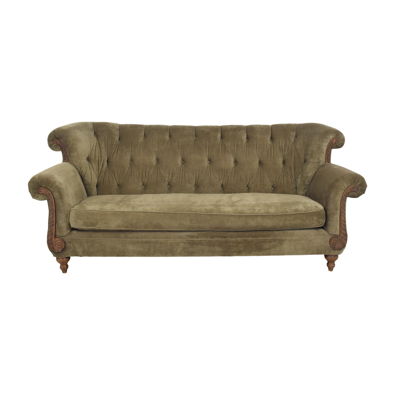buy Domain Home Tufted Roll Arm Sofa Domain Home Sofas