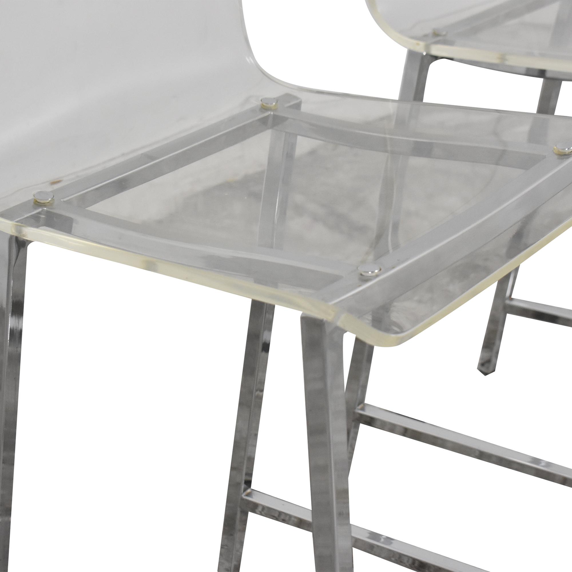 shop CB2 Vapor Counter Stools CB2 Chairs