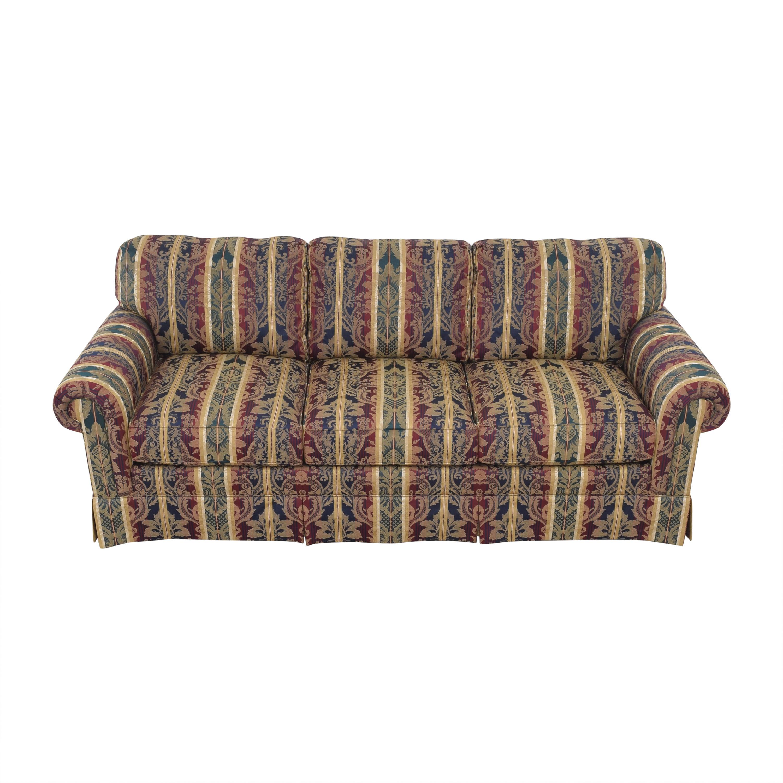 Sherrill Furniture Sherrill Furniture Three Cushion Roll Arm Sofa used