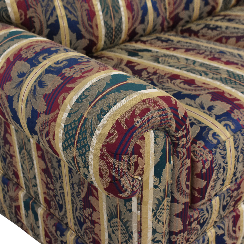 Sherrill Furniture Sherrill Furniture Stripe Patterned Loveseat price