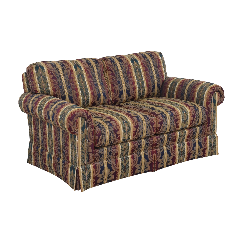 buy Sherrill Furniture Stripe Patterned Loveseat Sherrill Furniture Loveseats