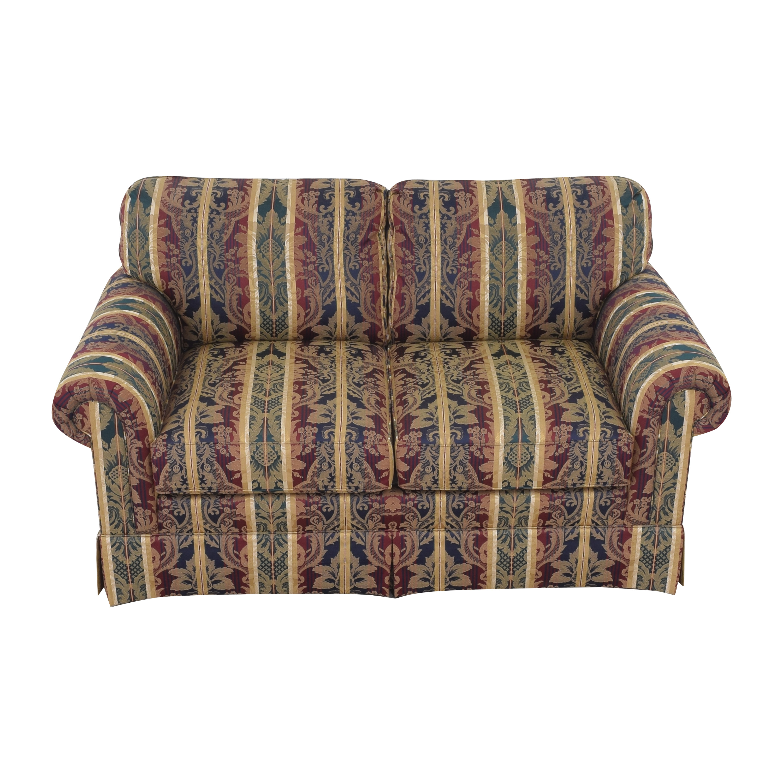 Sherrill Furniture Sherrill Furniture Stripe Patterned Loveseat ma