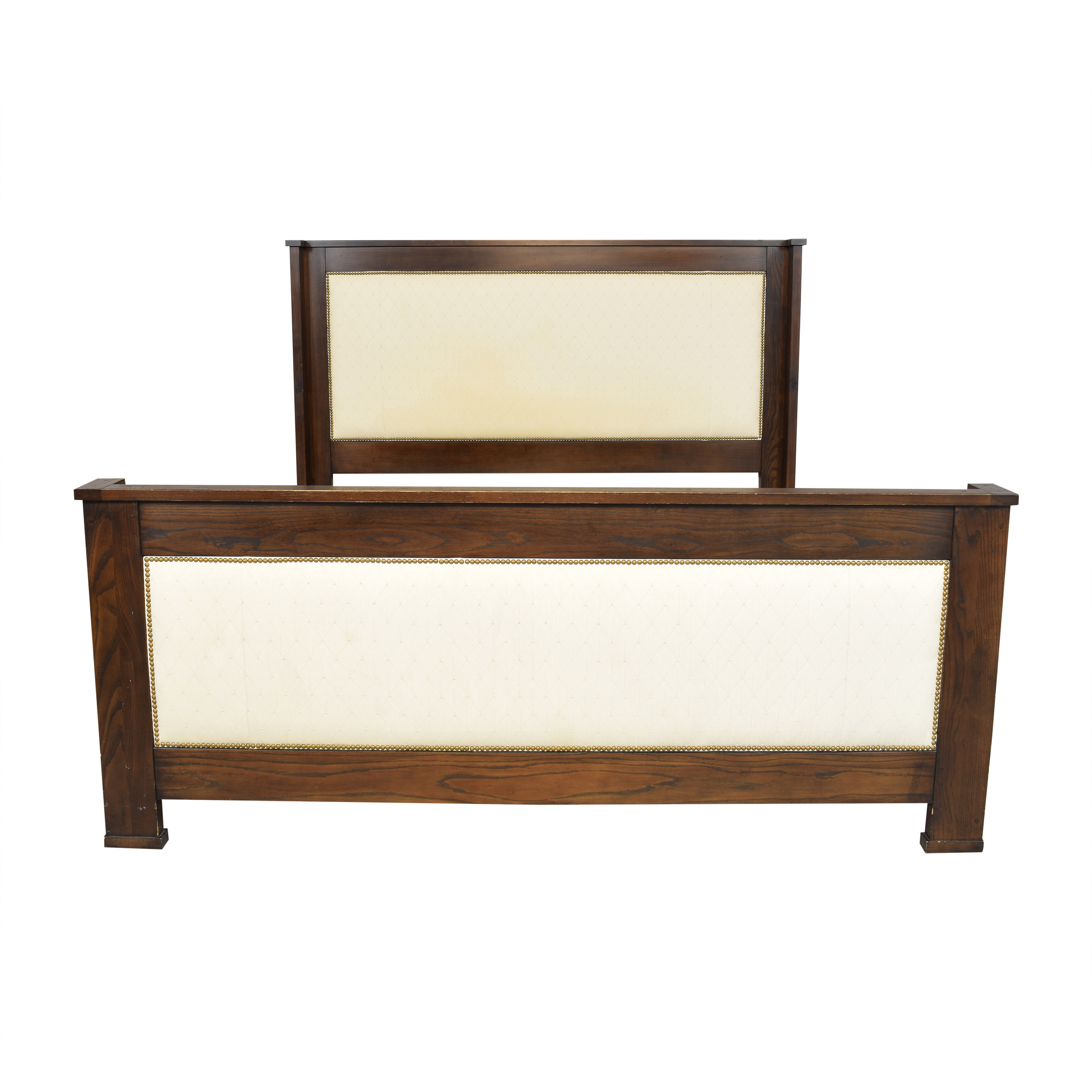 shop Hickory Chair Upholstered King Bed Hickory Chair Bed Frames