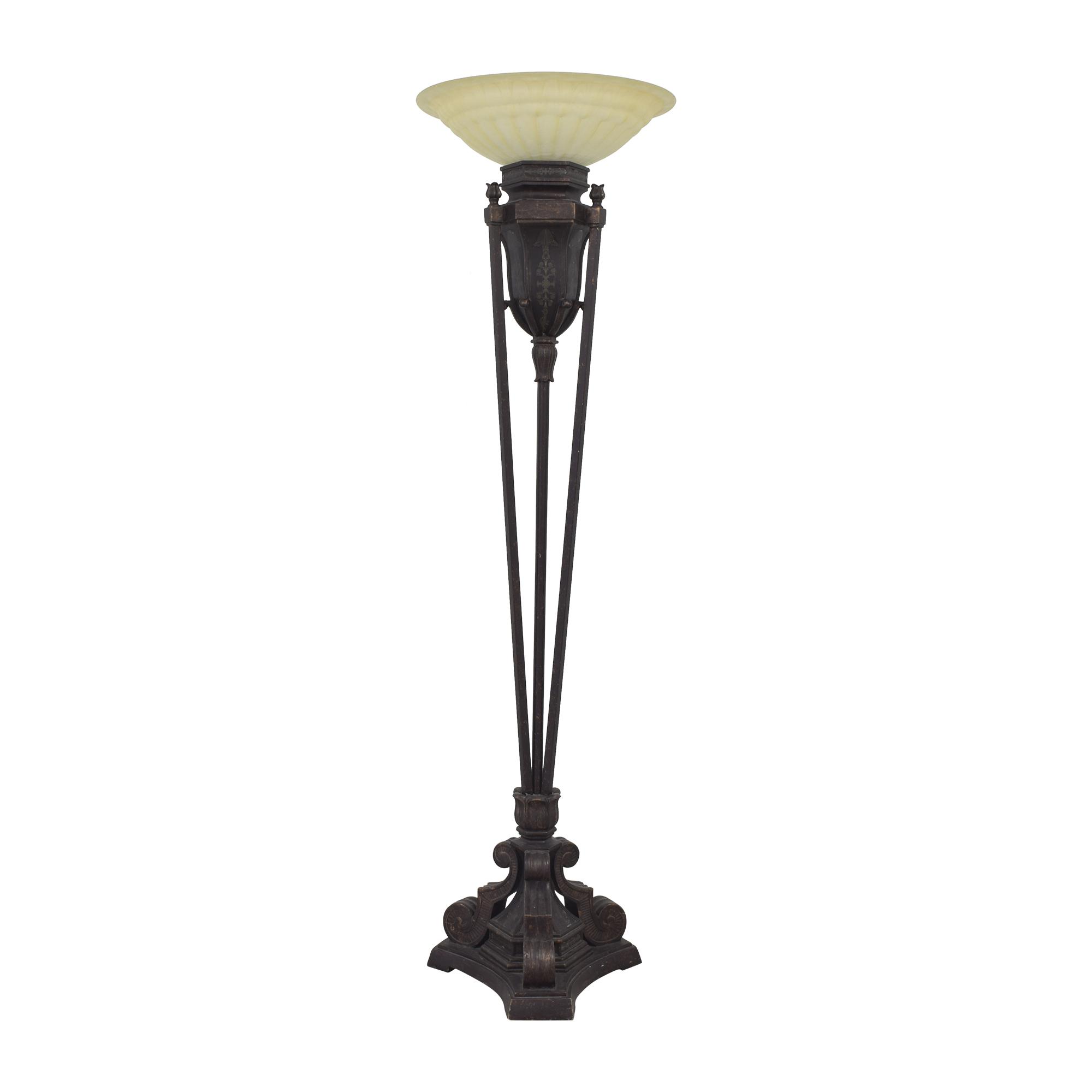 Pacific Coast Lighting Pacific Coast Lighting Torchiere Floor Lamp for sale