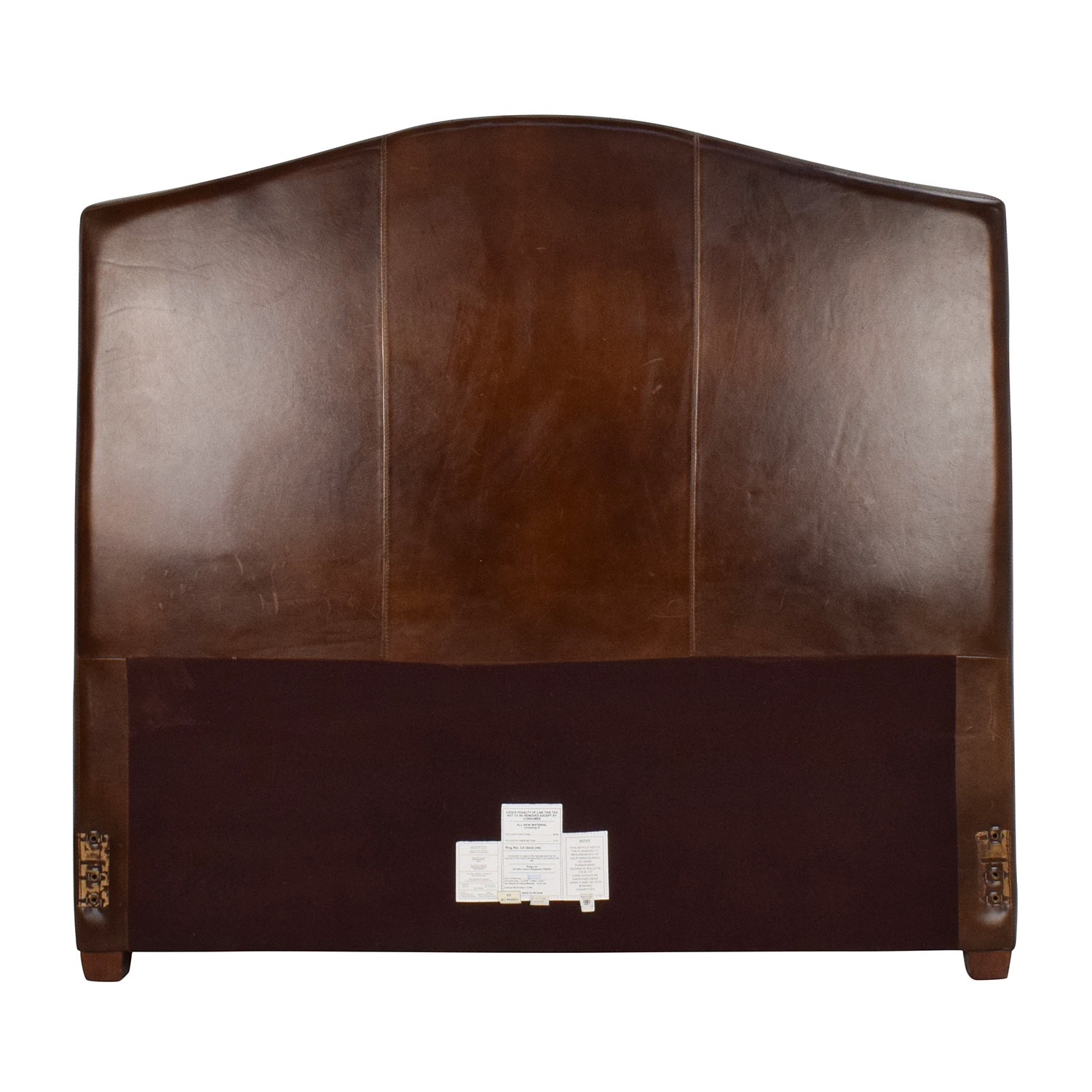 Alex Alin Designs Alexander Queen Leather Headboard / Beds