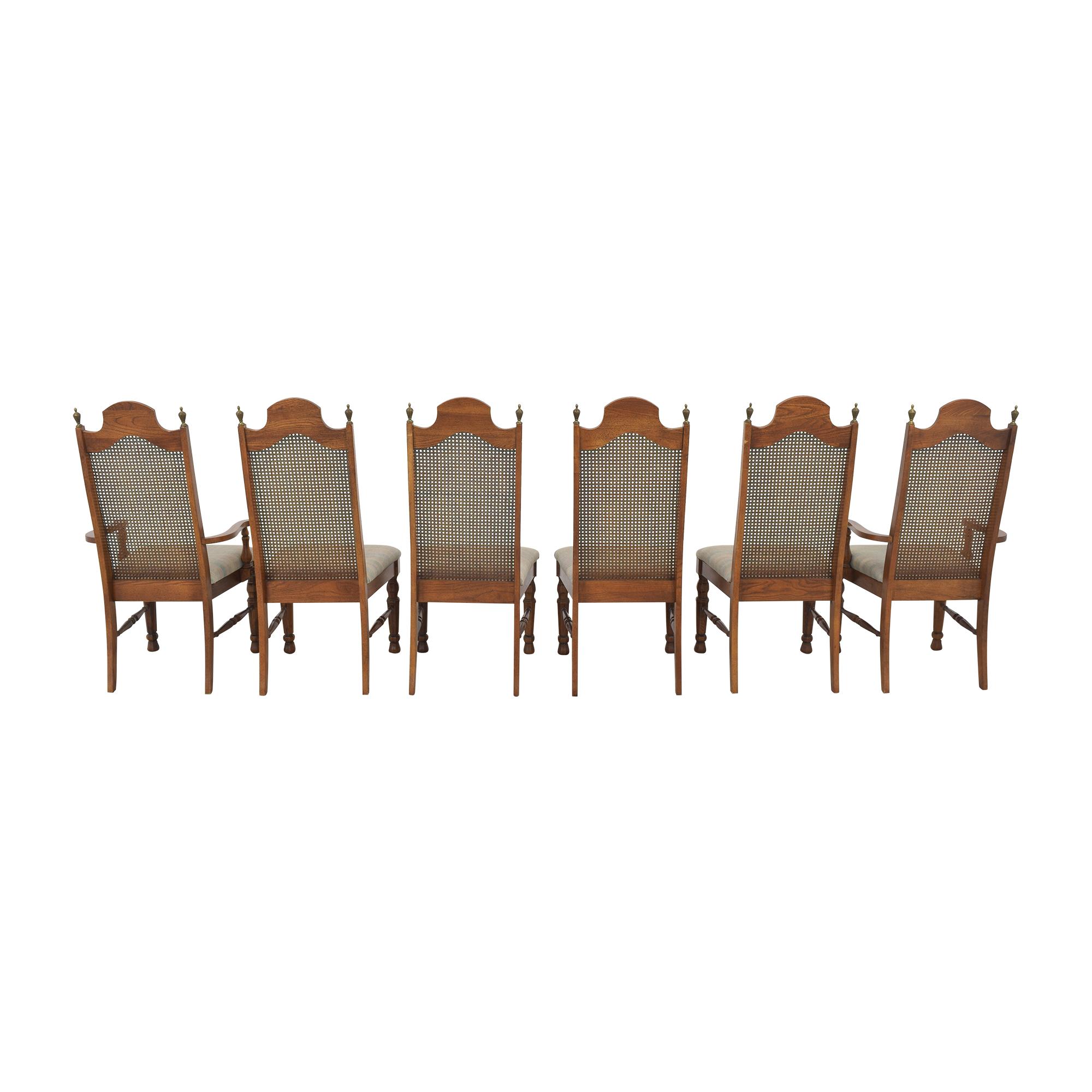 Lenoir Chair Company Lenoir Cane Back Dining Chairs price
