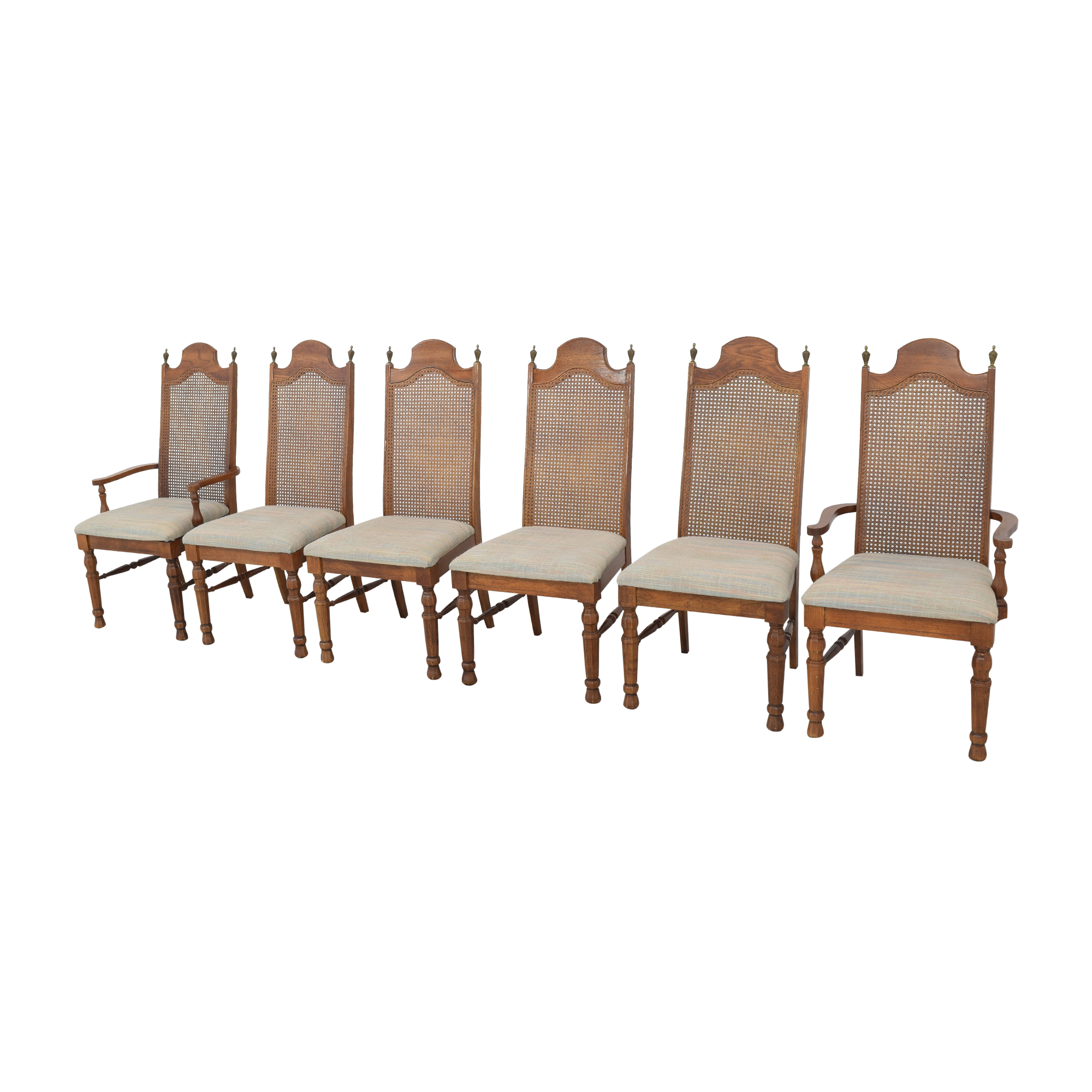 Lenoir Cane Back Dining Chairs / Dining Chairs