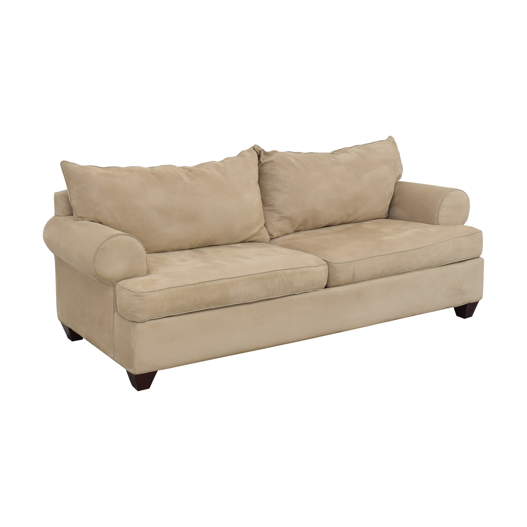 Raymour & Flanigan Raymour & Flanigan Two Cushion Sofa Classic Sofas