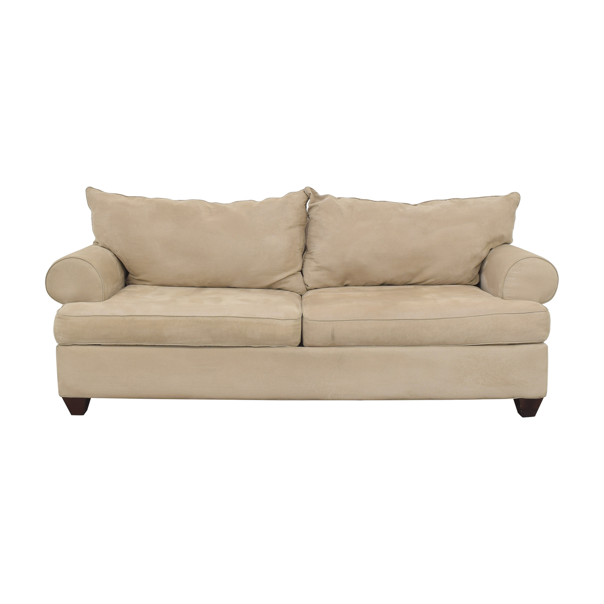 buy Raymour & Flanigan Two Cushion Sofa Raymour & Flanigan