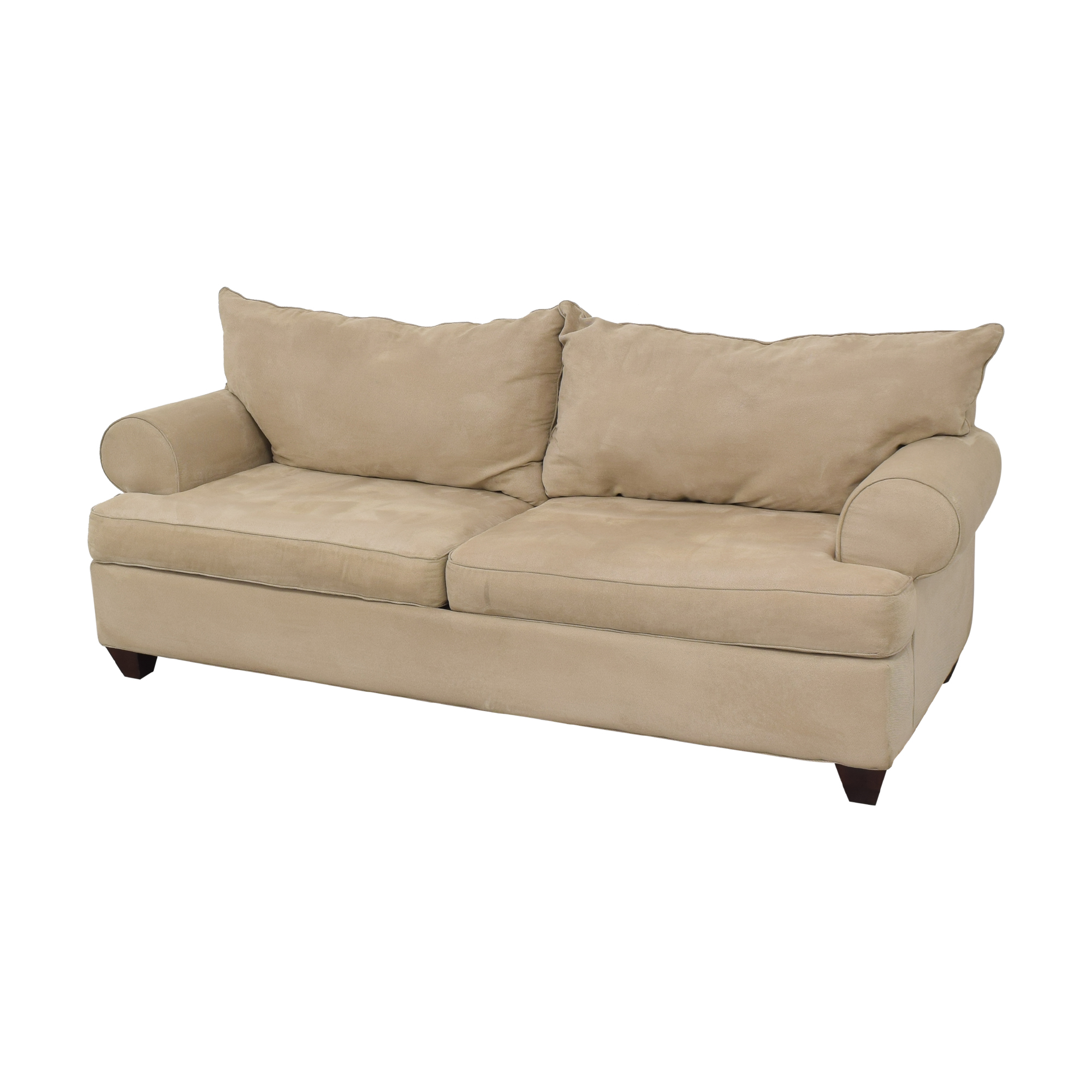 Raymour & Flanigan Two Cushion Sofa / Sofas
