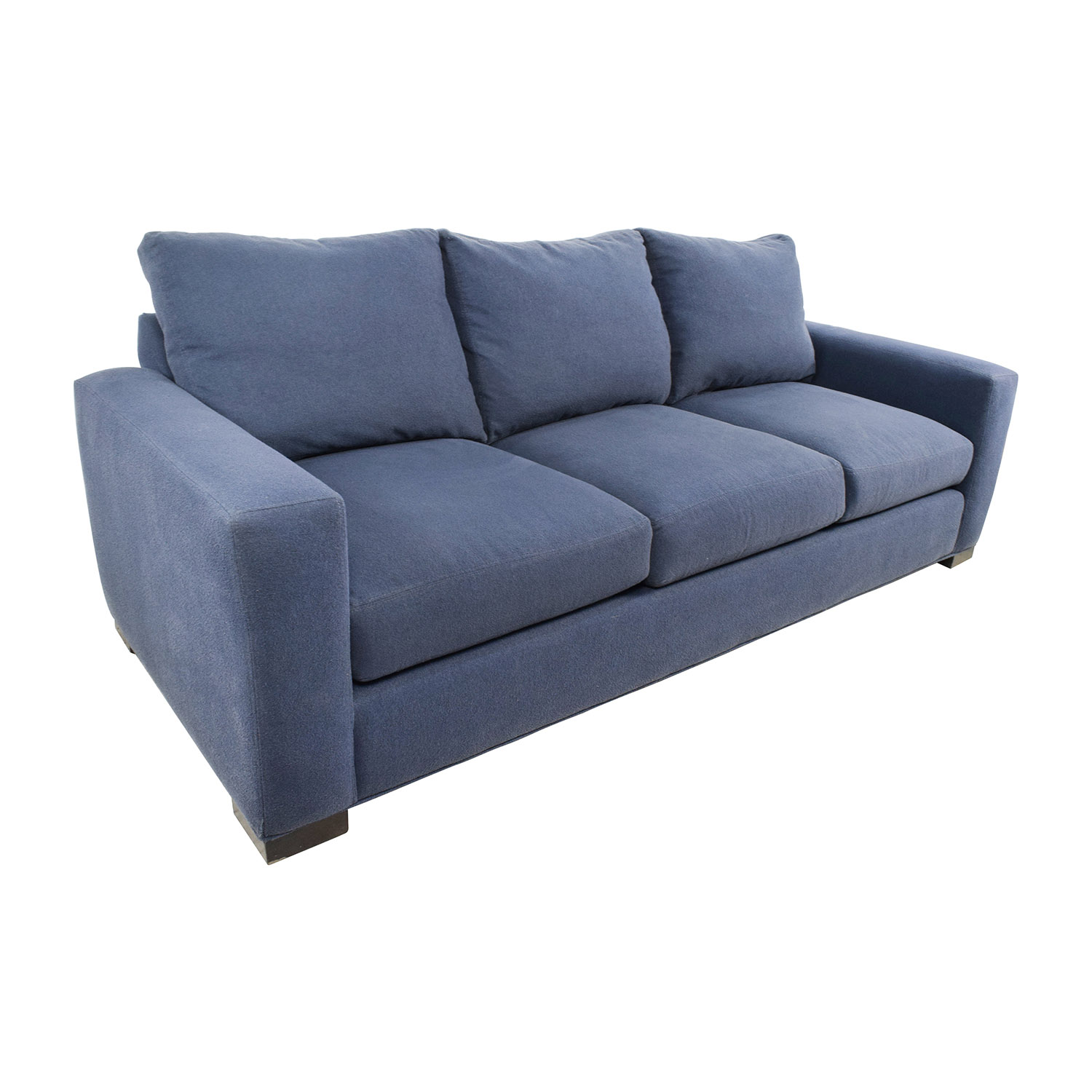 54% OFF Room and Board Room & Board Metro Blue Sofa Sofas