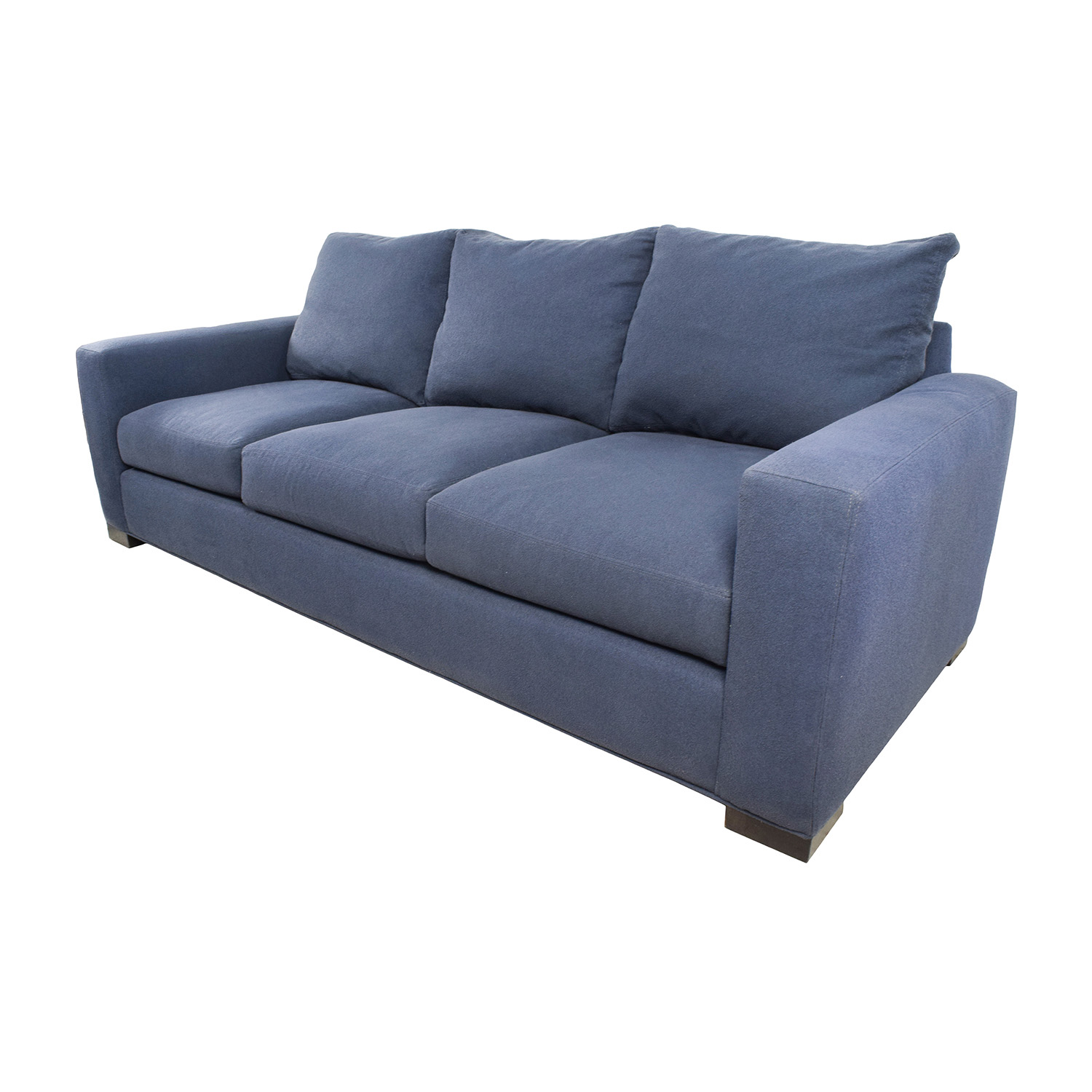 ... Shop Room U0026 Board Metro Blue Sofa Room And Board ...