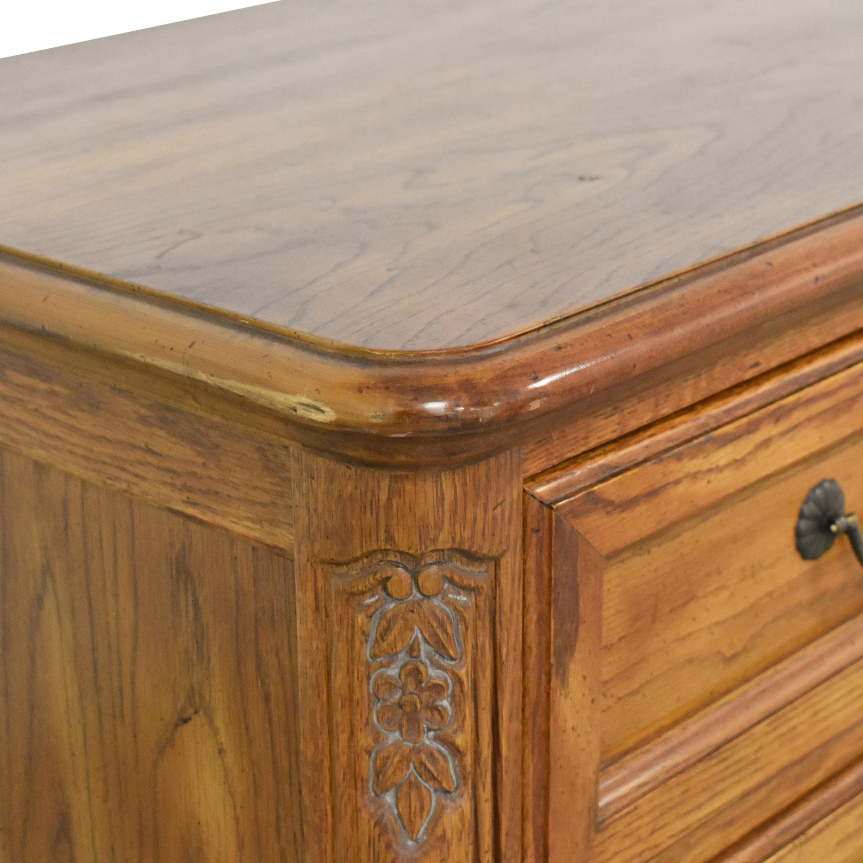 Hickory French Country Style Door Dresser / Dressers