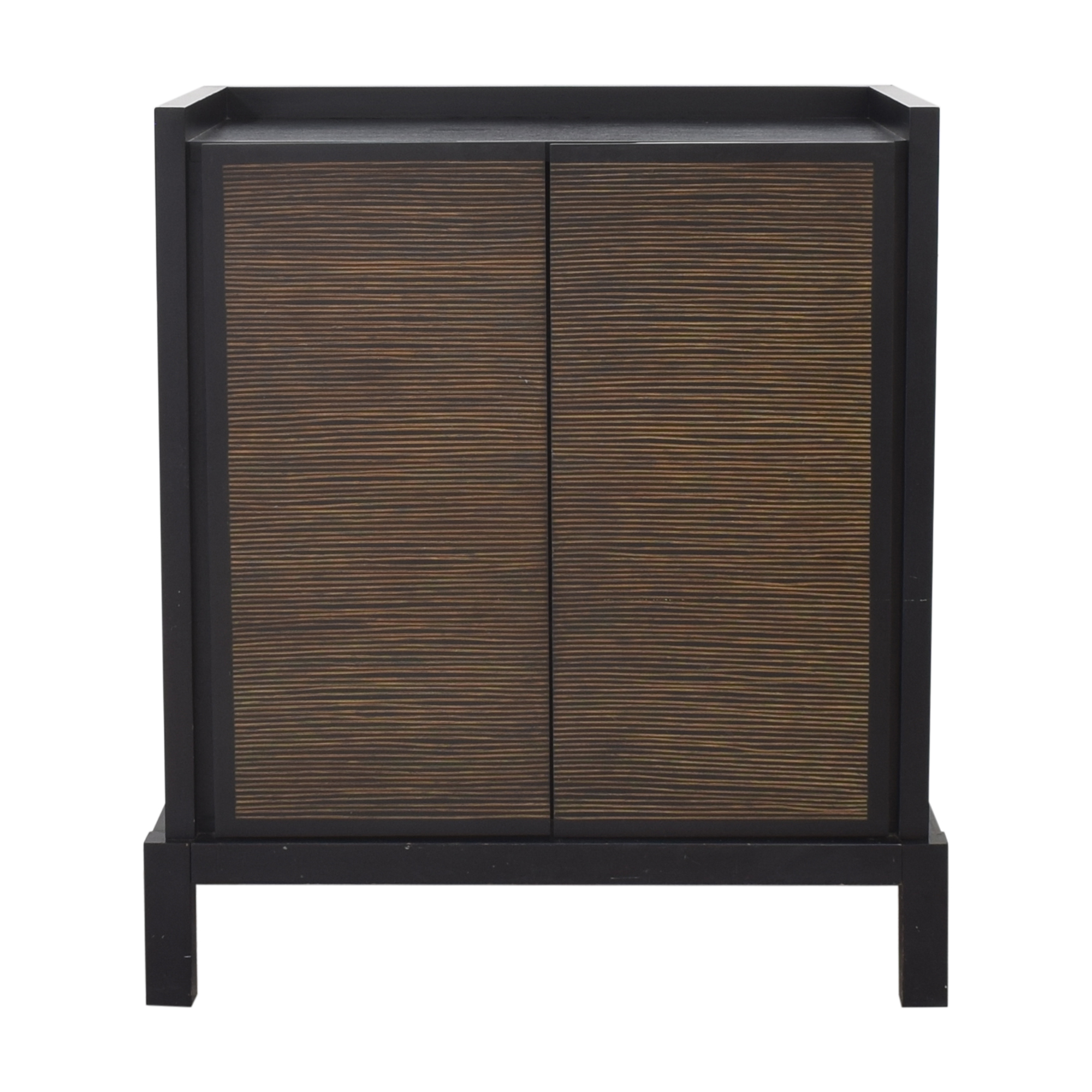 Crate & Barrel Two Door Cabinet sale
