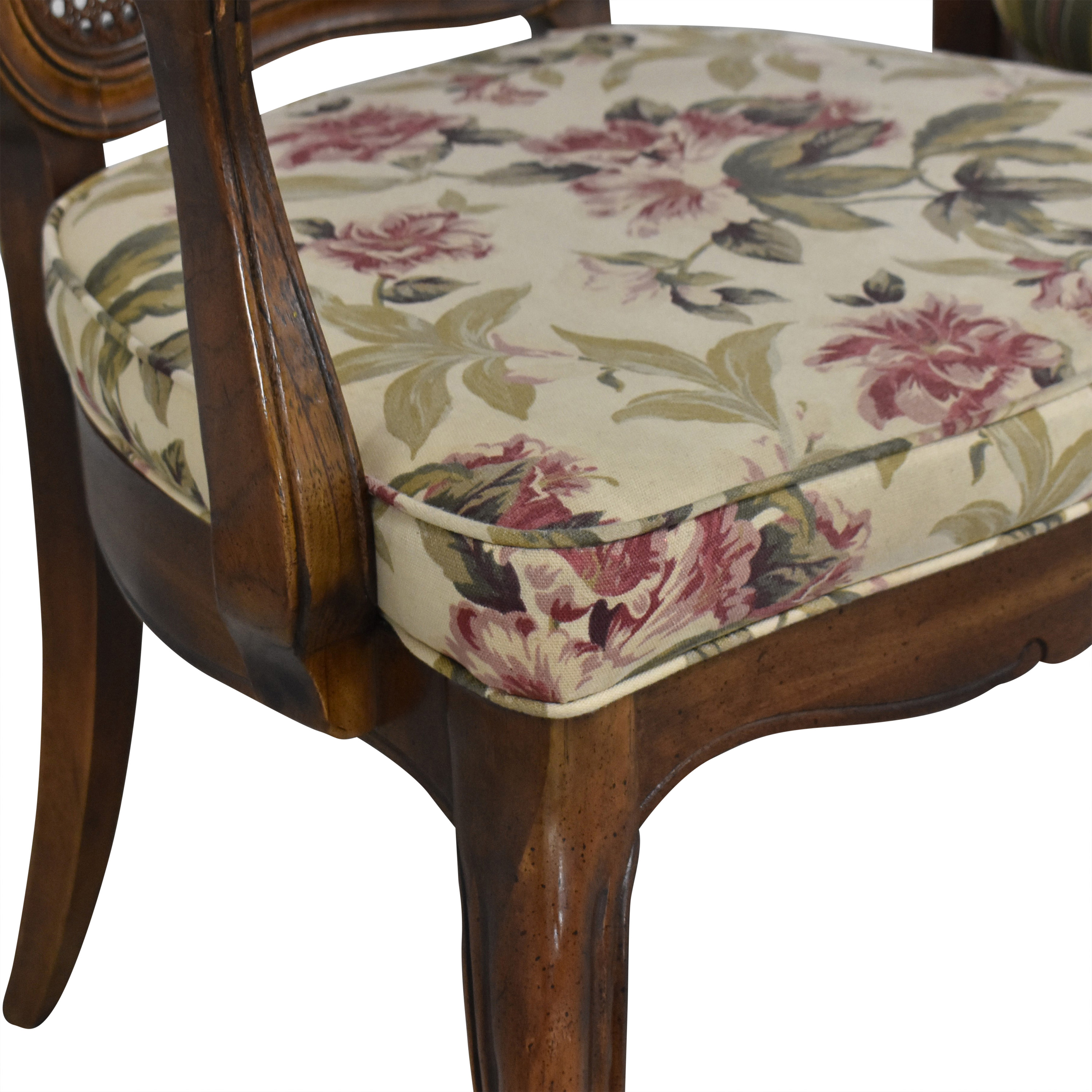Thomasville Thomasville Cane Back Dining Chairs