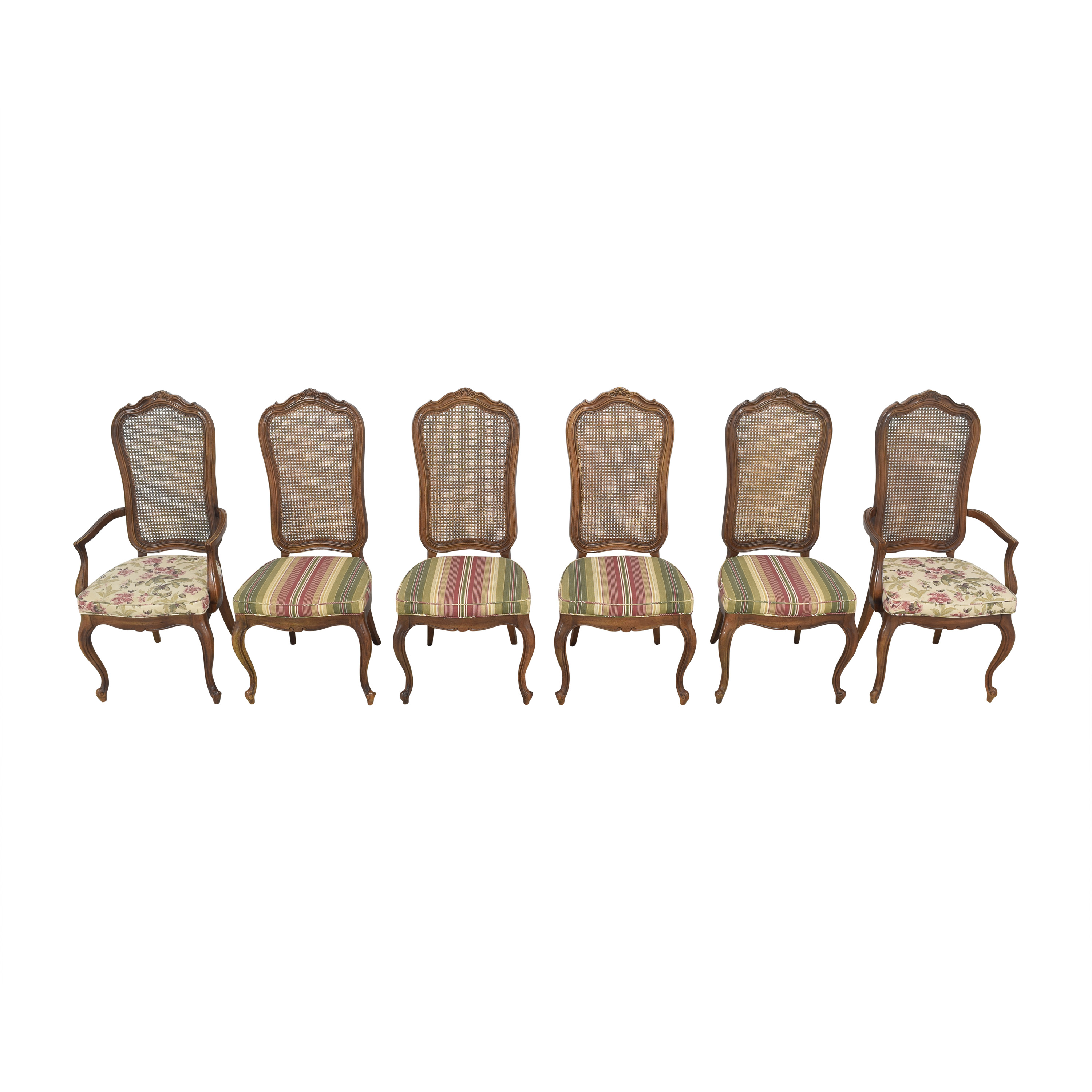 Thomasville Thomasville Cane Back Dining Chairs coupon