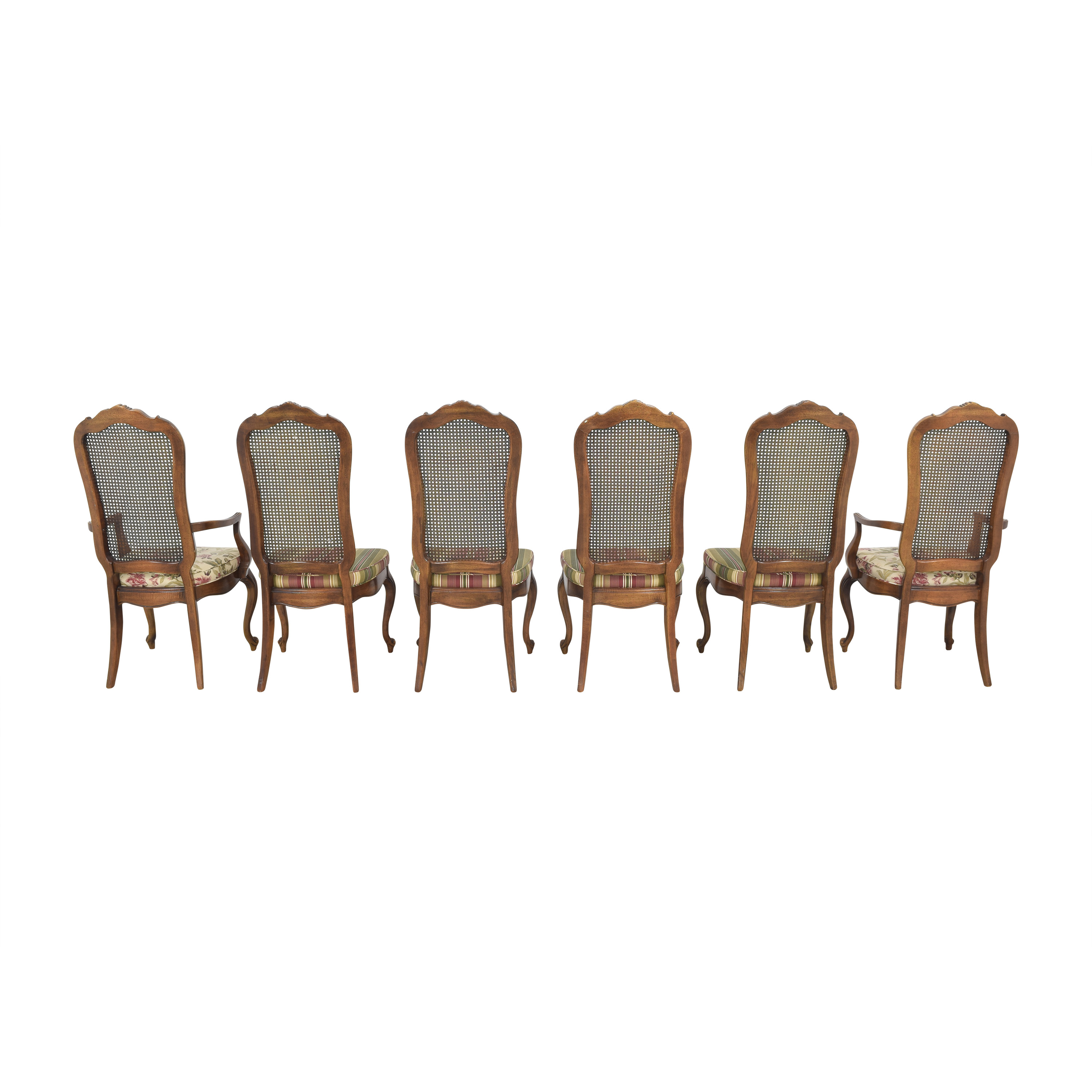 Thomasville Thomasville Cane Back Dining Chairs discount