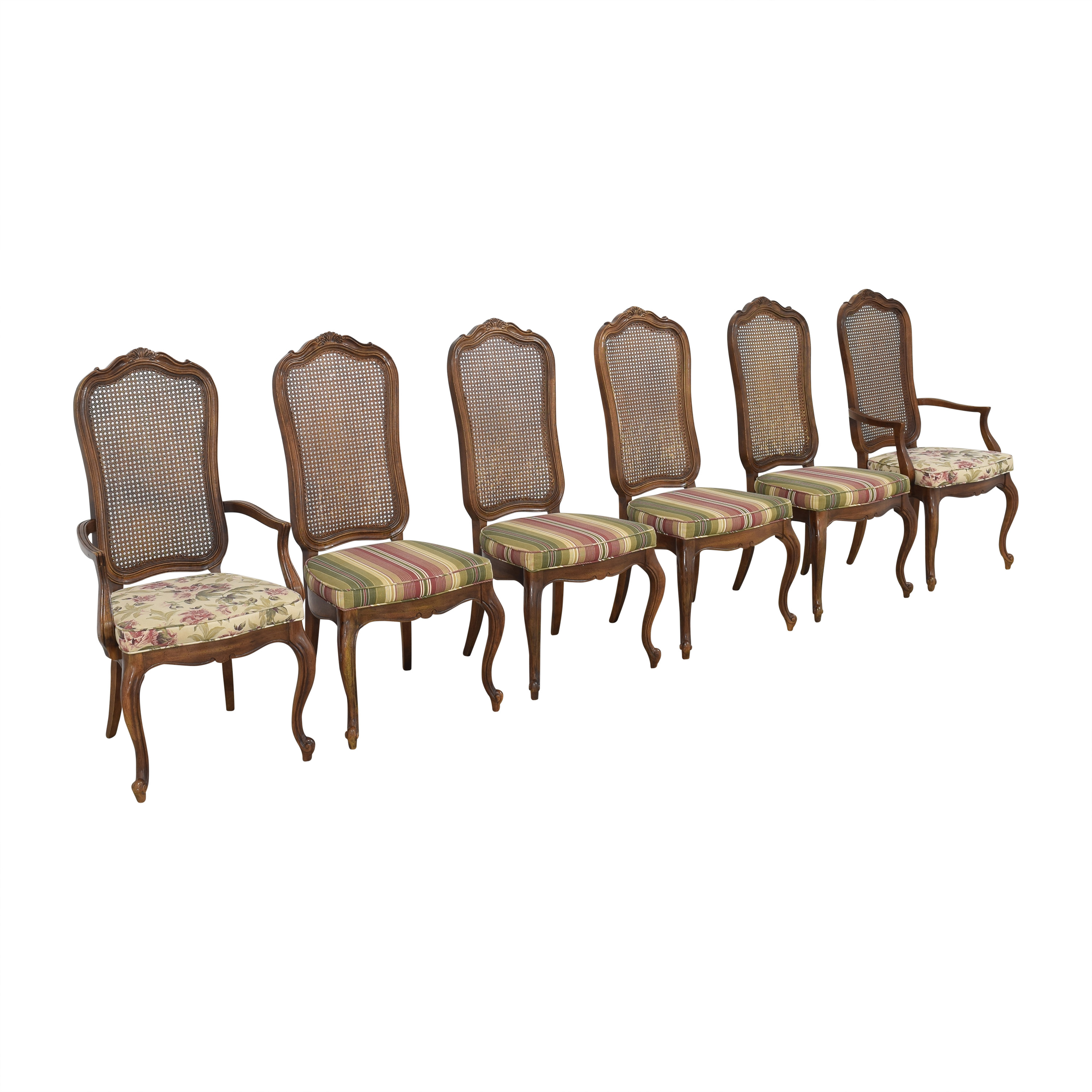 buy Thomasville Thomasville Cane Back Dining Chairs online