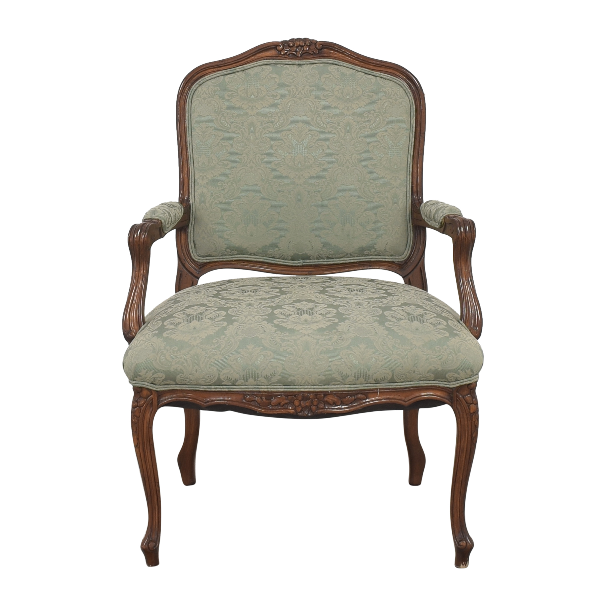 shop Vintage Upholstered Armchair  Accent Chairs