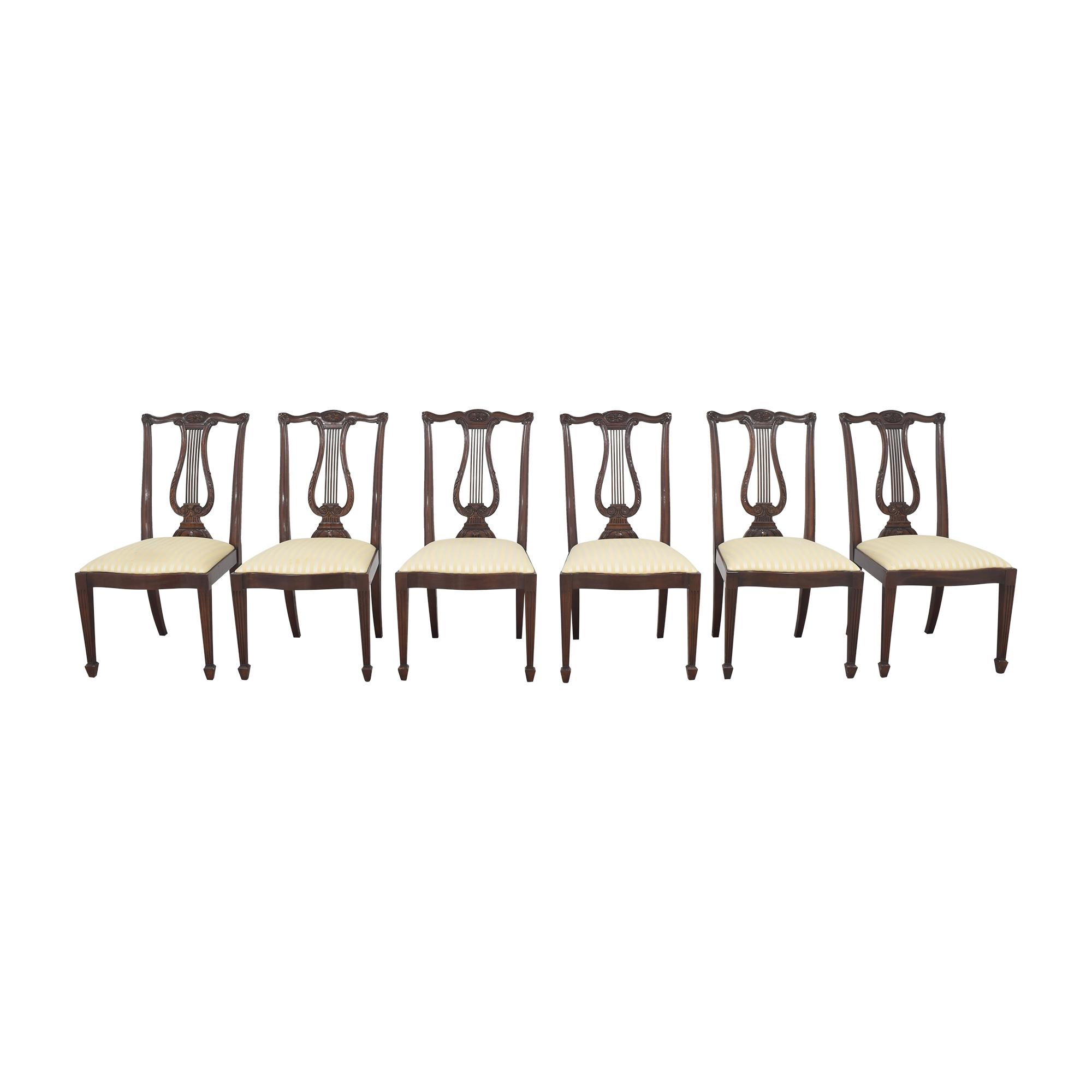 Henkel Harris Henkel Harris Lyre Back Dining Chairs coupon