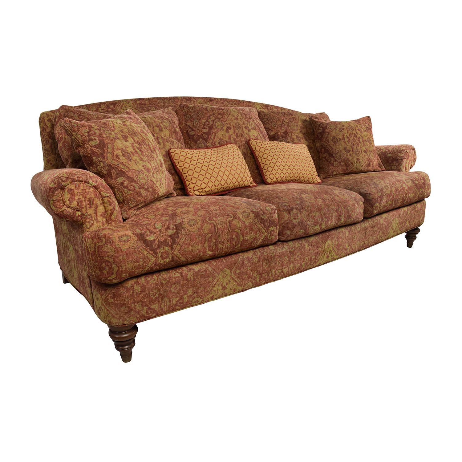 Ethan Allen Used Furniture >> 65% OFF - Ethan Allen Ethan Allen Paisley Cushioned Sofa ...
