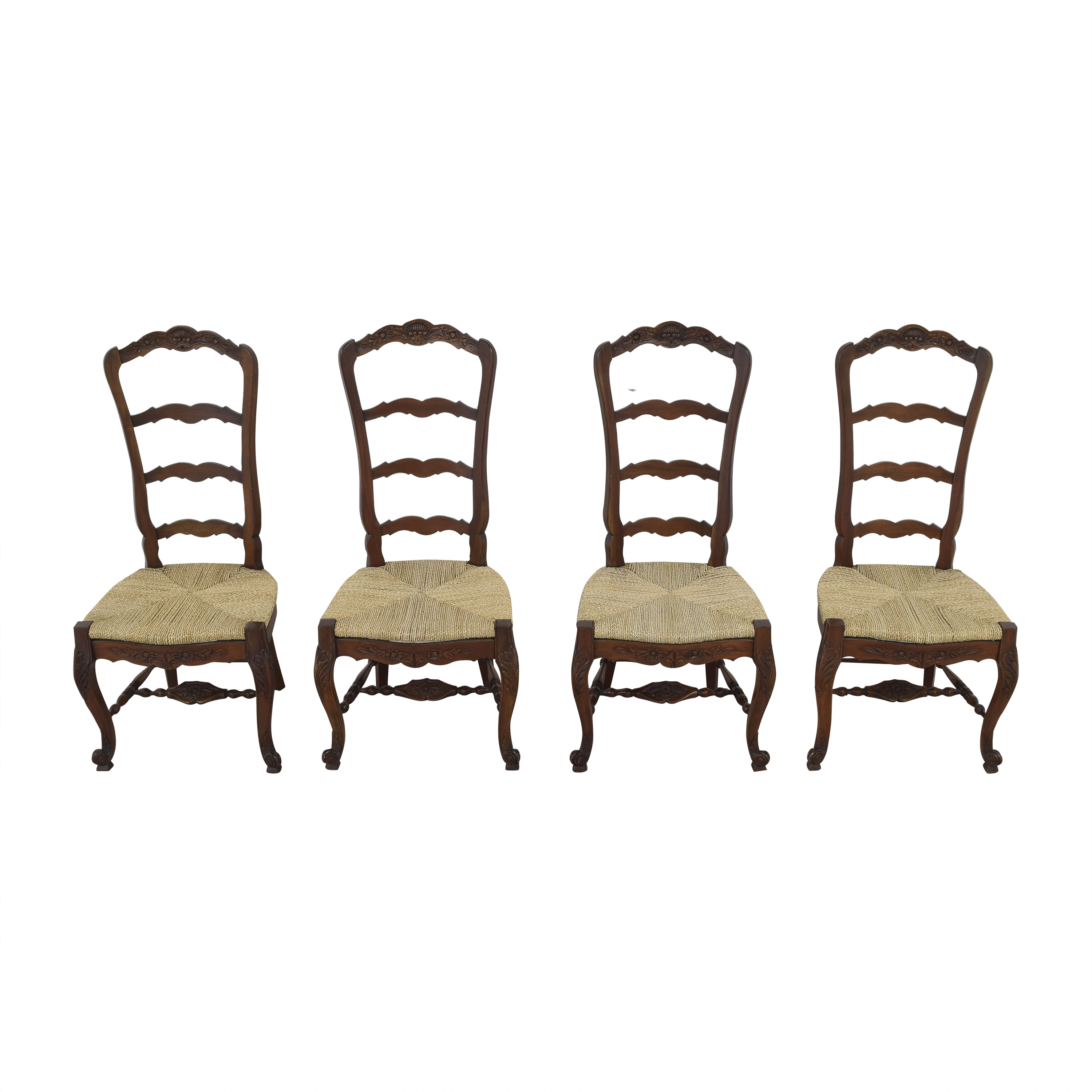 Marie Albert French Country Ladder Back Dining Chairs Marie Albert