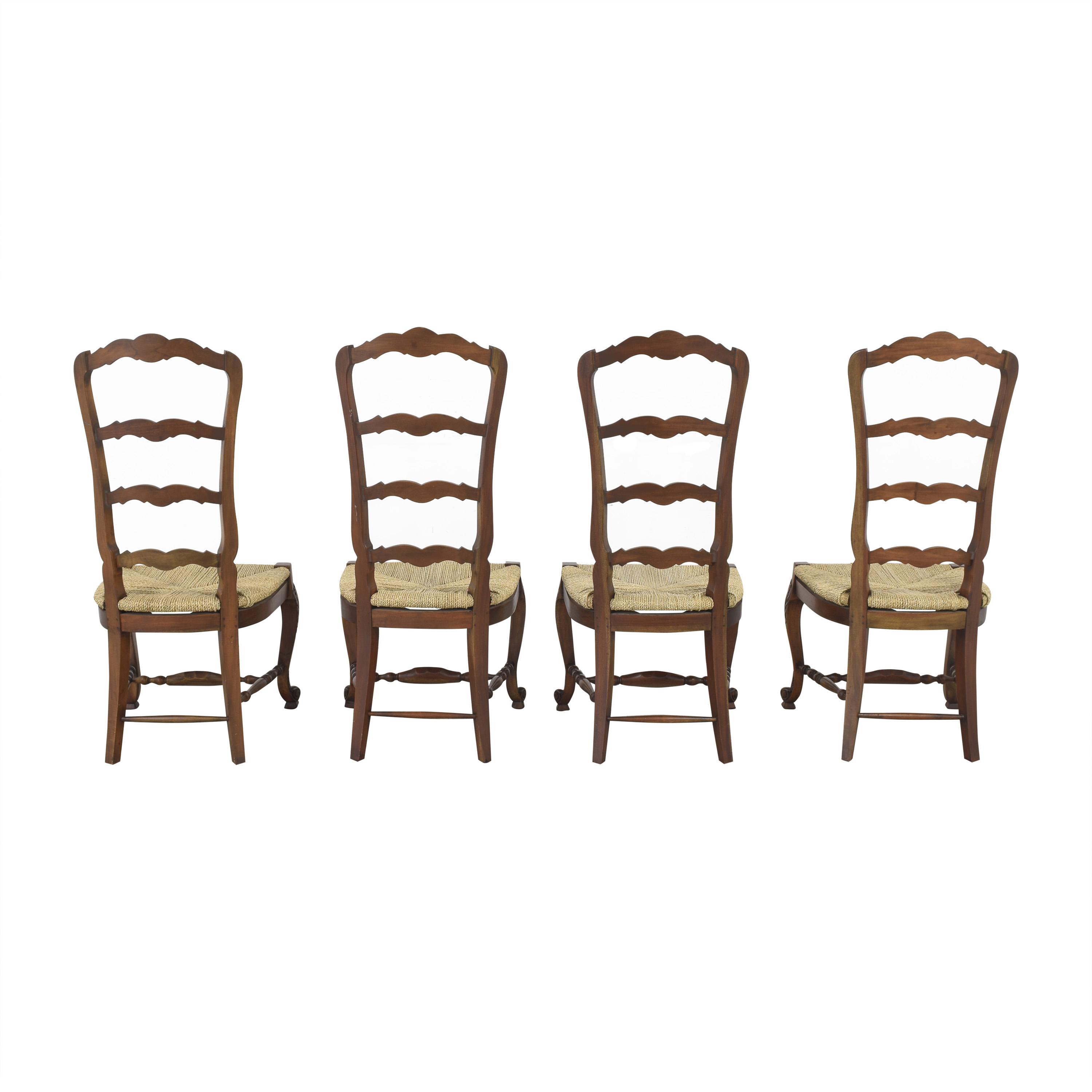 Marie Albert Marie Albert French Country Ladder Back Dining Chairs ma