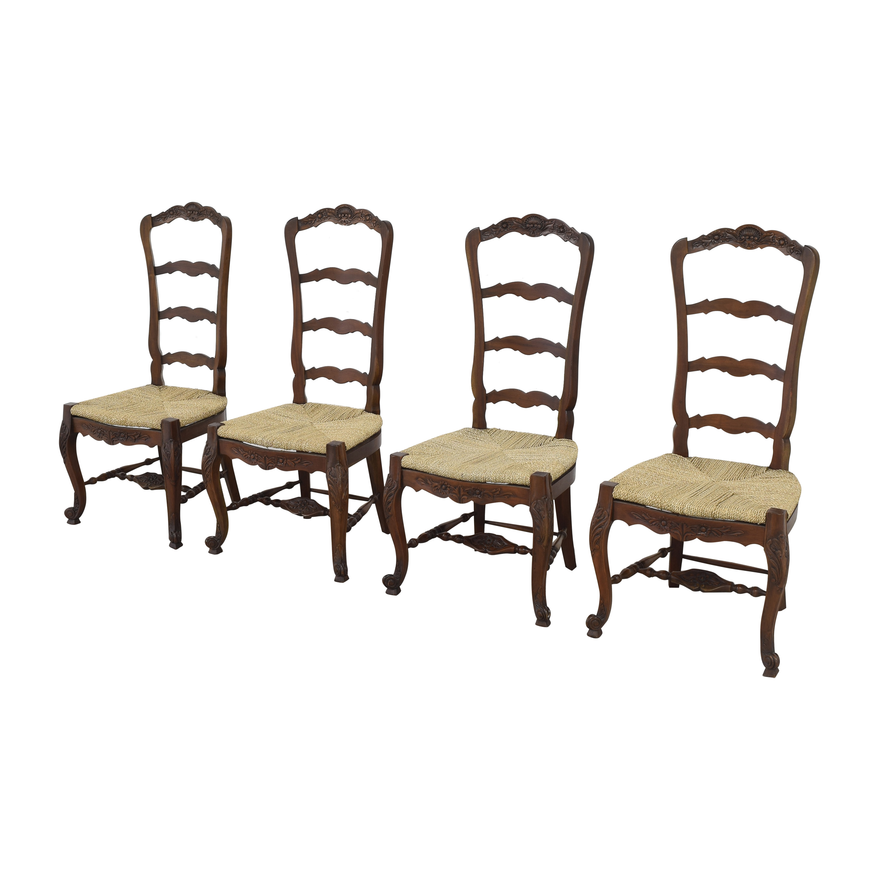 Marie Albert Marie Albert French Country Ladder Back Dining Chairs