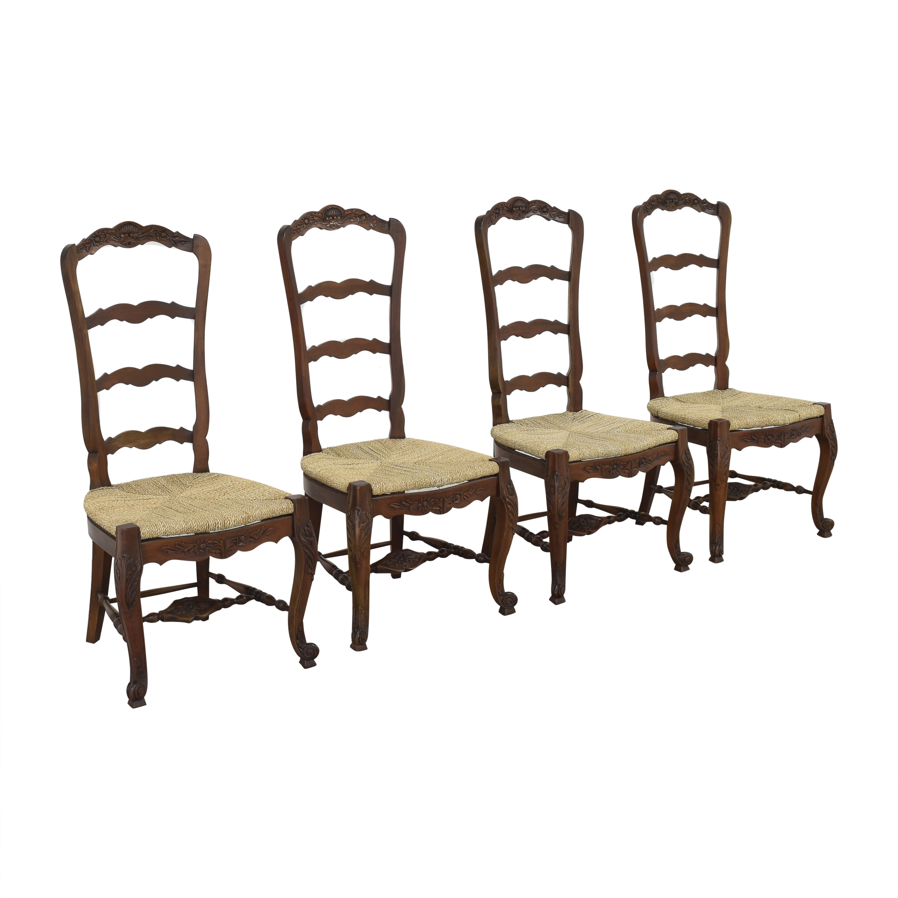 Marie Albert Marie Albert French Country Ladder Back Dining Chairs coupon
