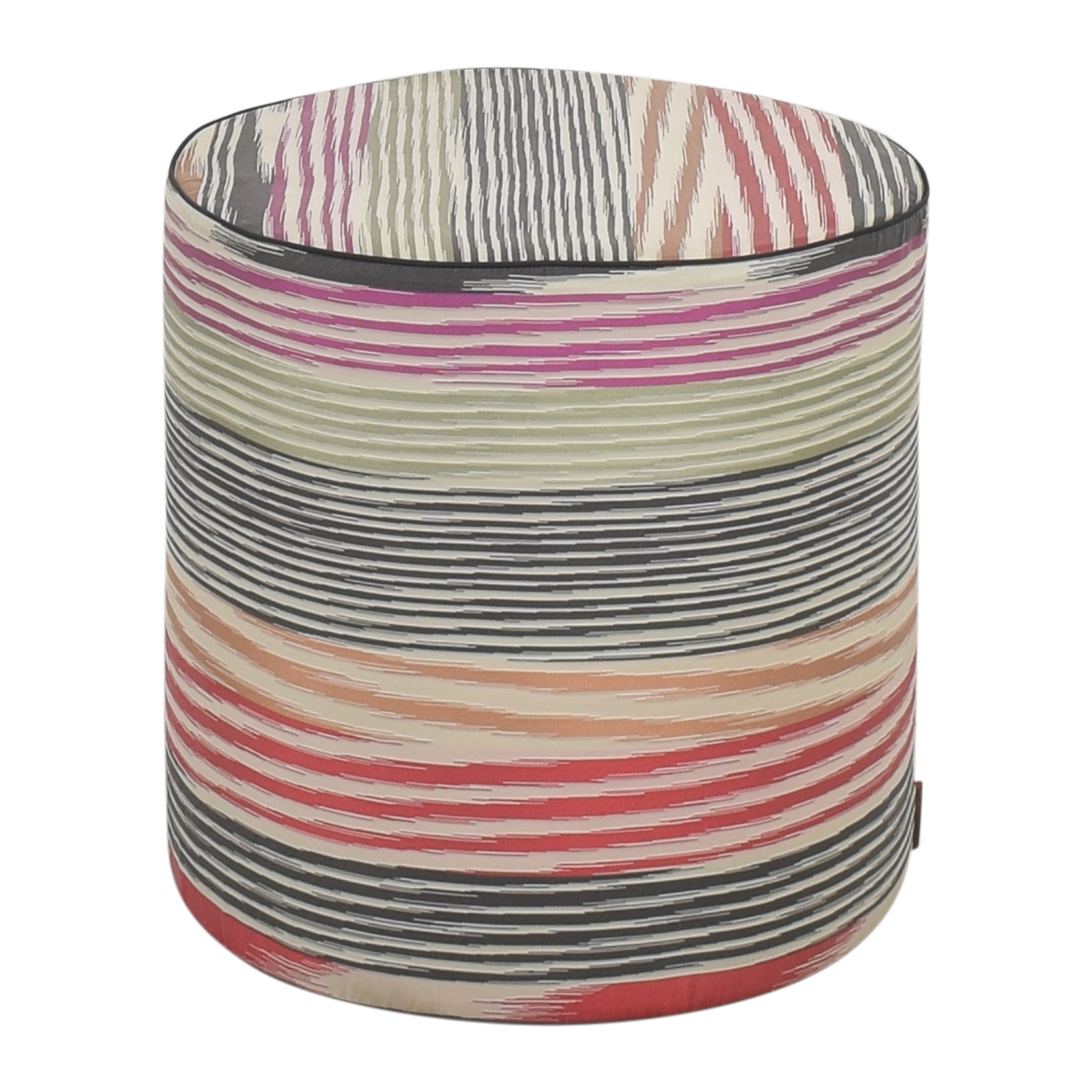 buy Missoni Home Cylinder Pouf Missoni