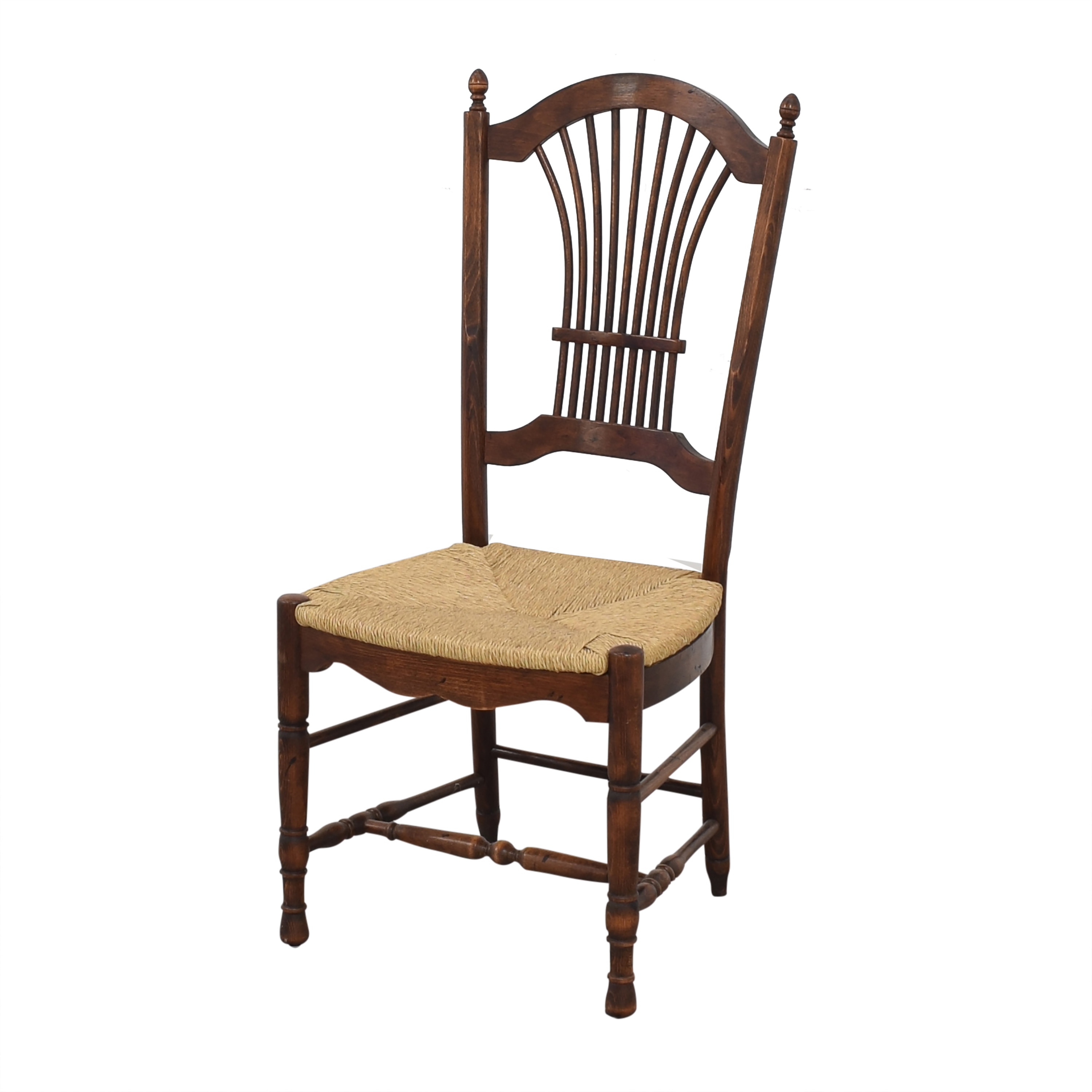 Cane Seat Dining Chairs brown