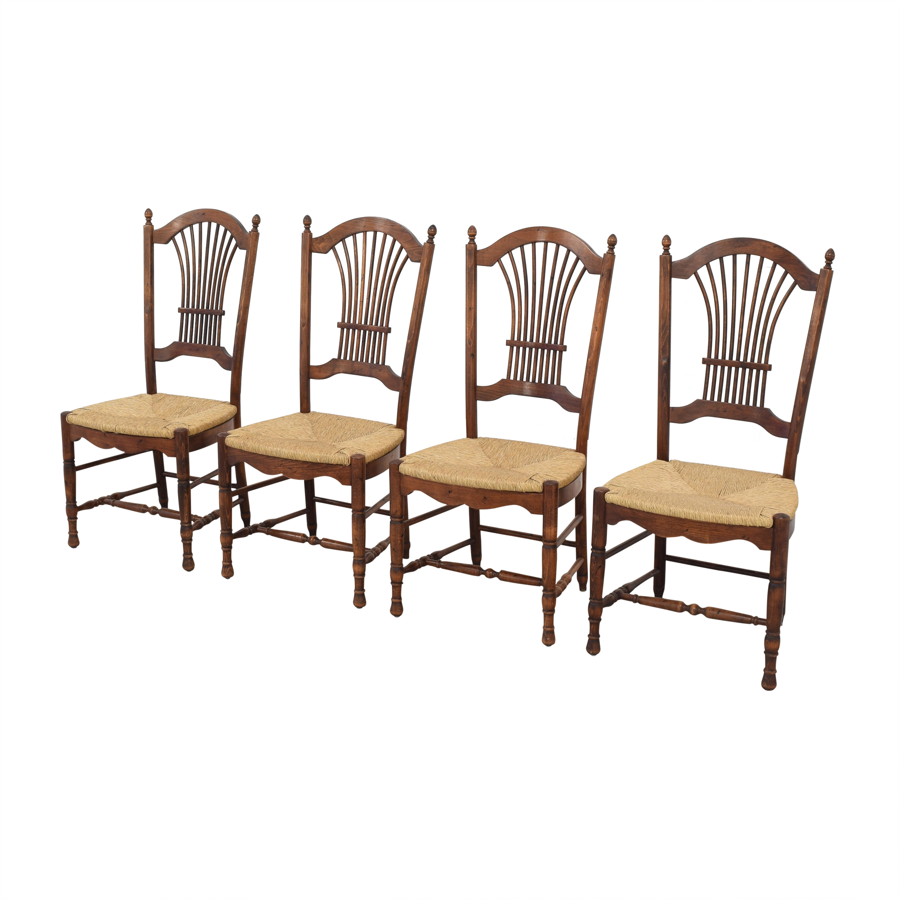 Cane Seat Dining Chairs / Chairs