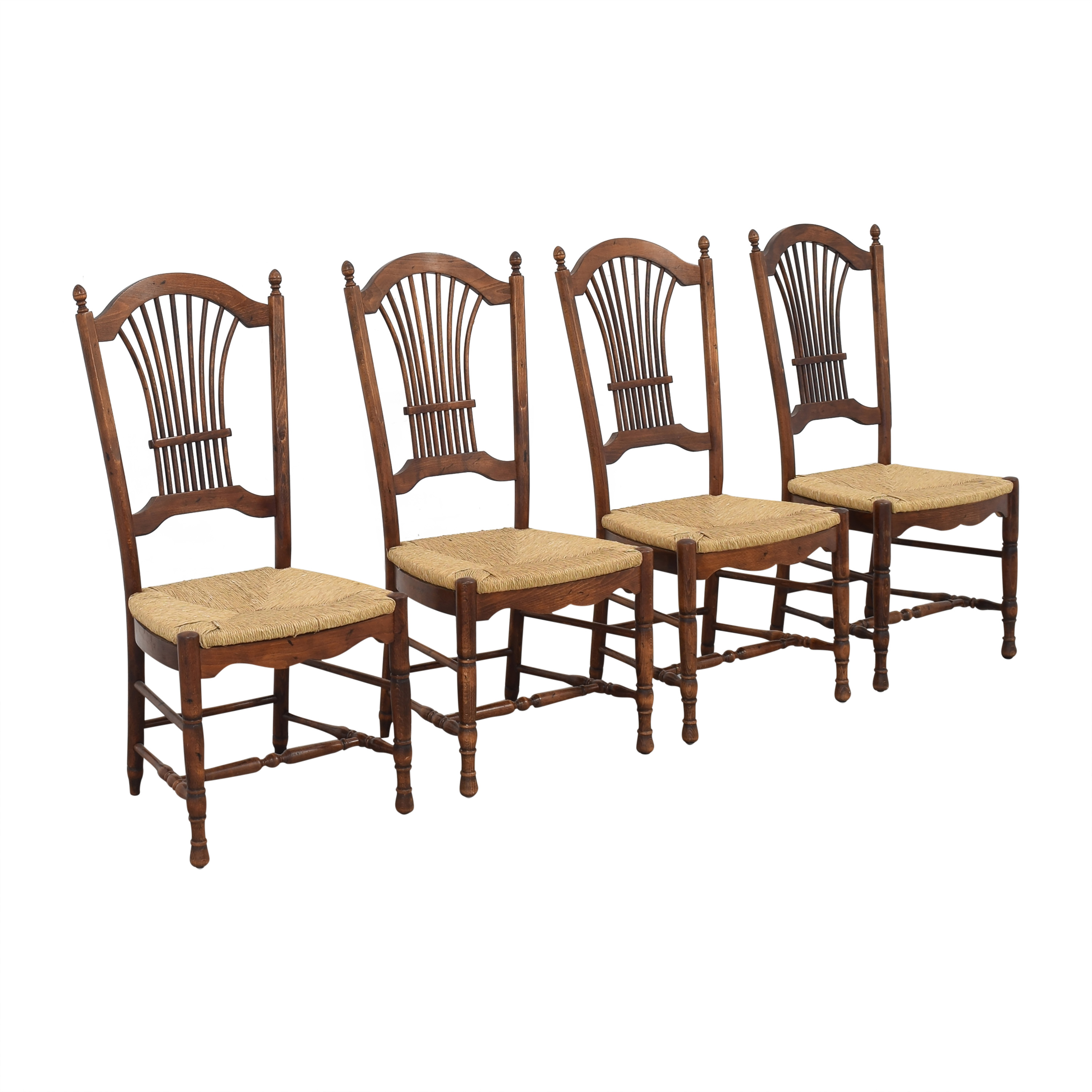 Cane Seat Dining Chairs for sale