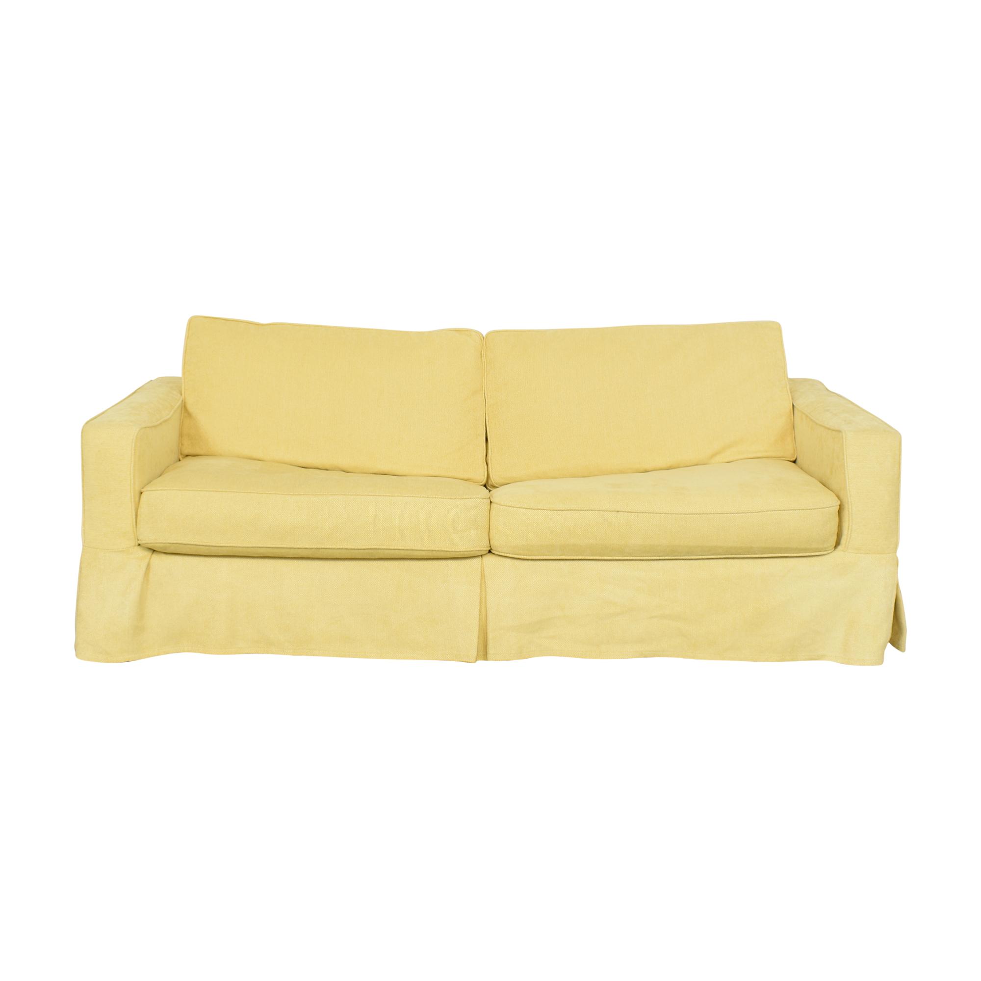 shop Crate & Barrel Sleeper Sofa Crate & Barrel