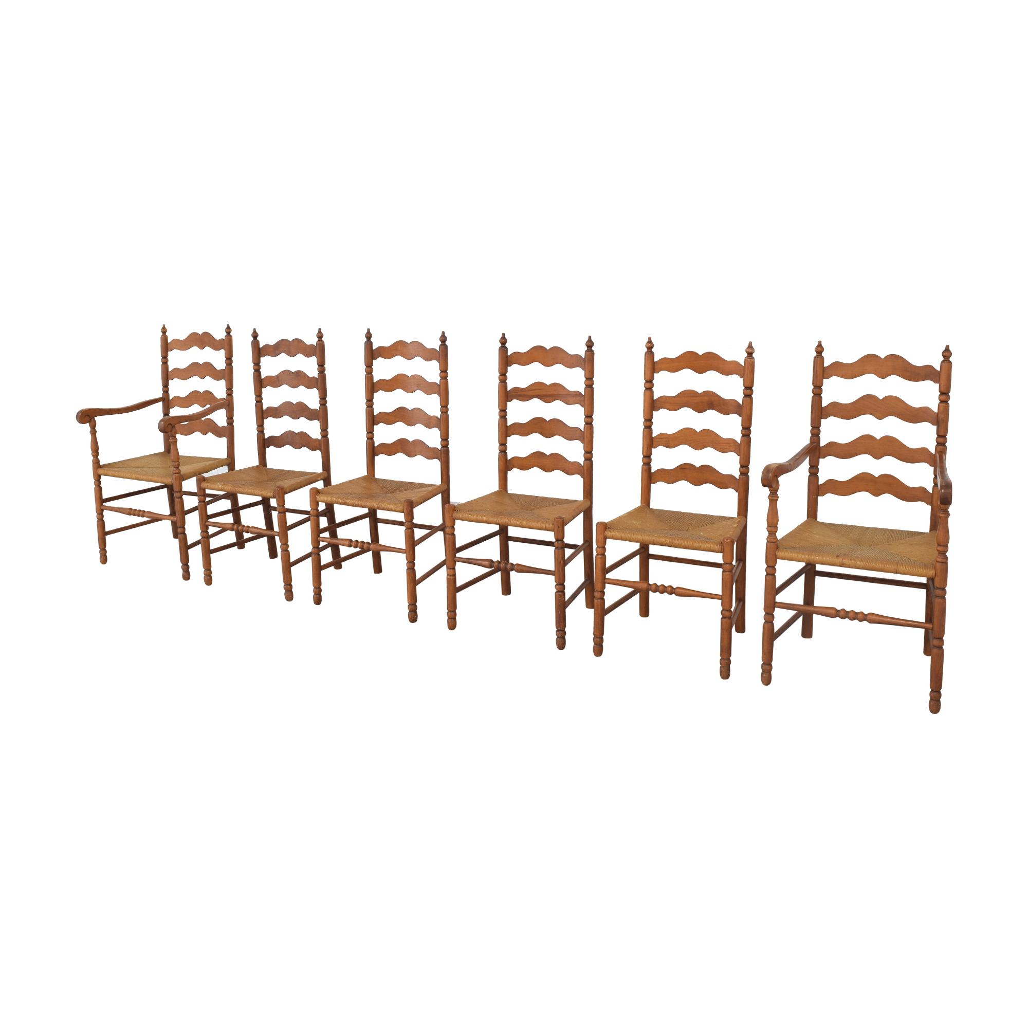 Tell City Tell City Ladder Back Dining Chairs dimensions