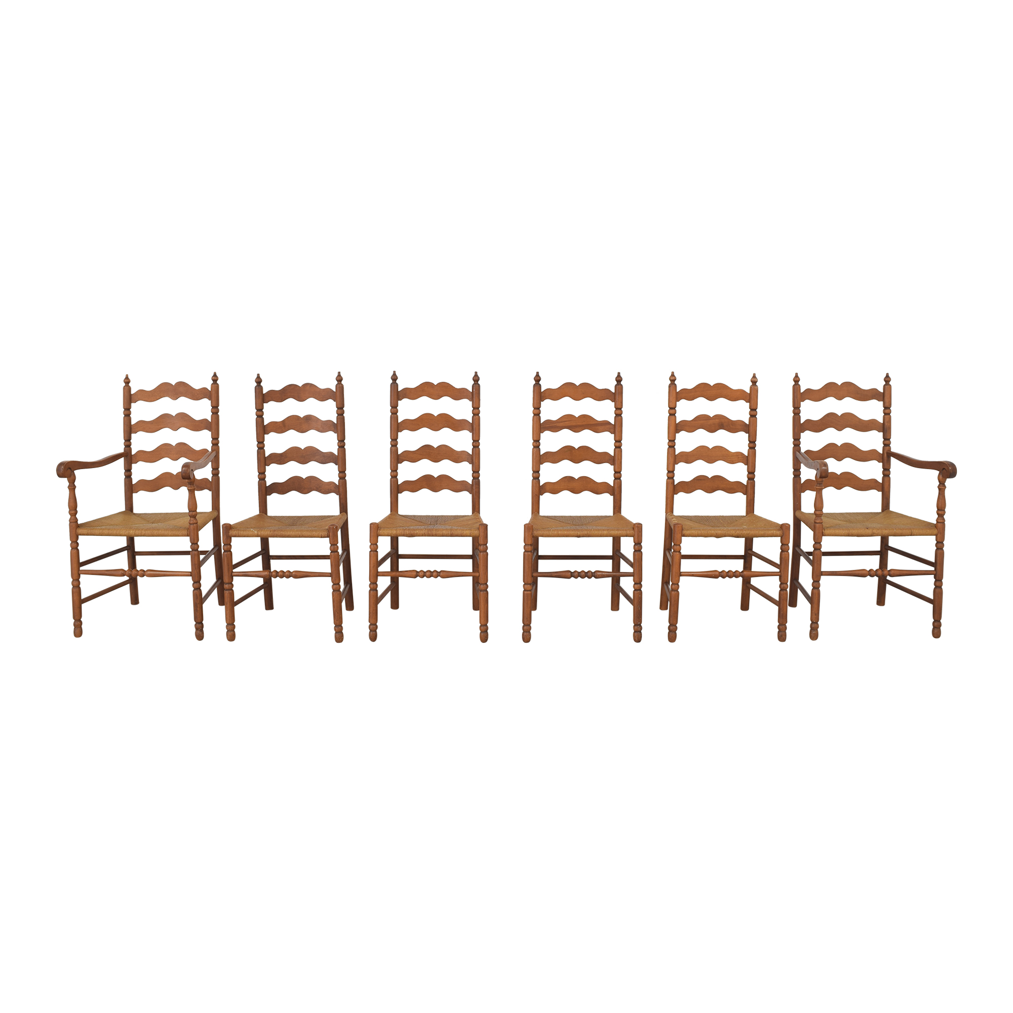 Tell City Tell City Ladder Back Dining Chairs used