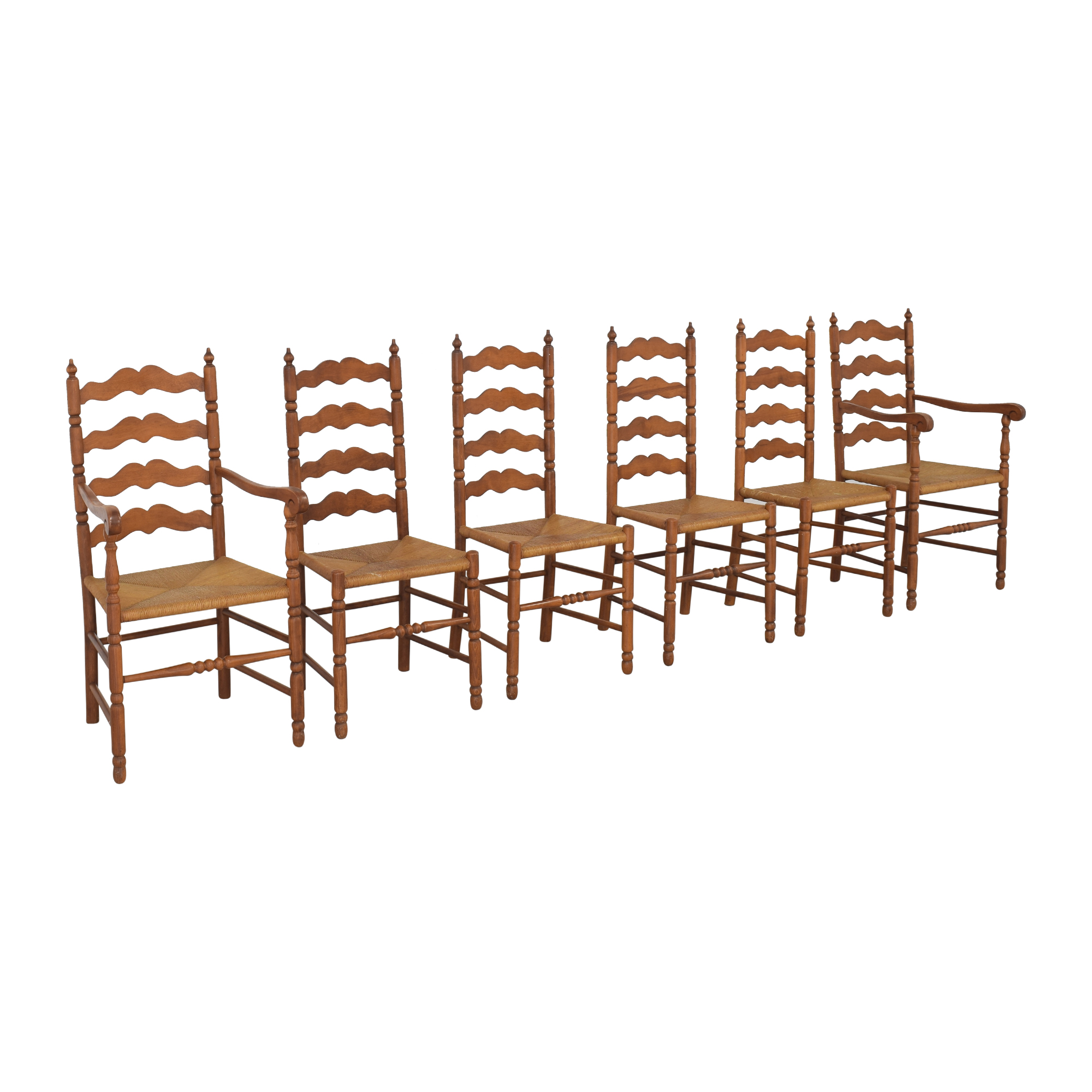 Tell City Ladder Back Dining Chairs Tell City
