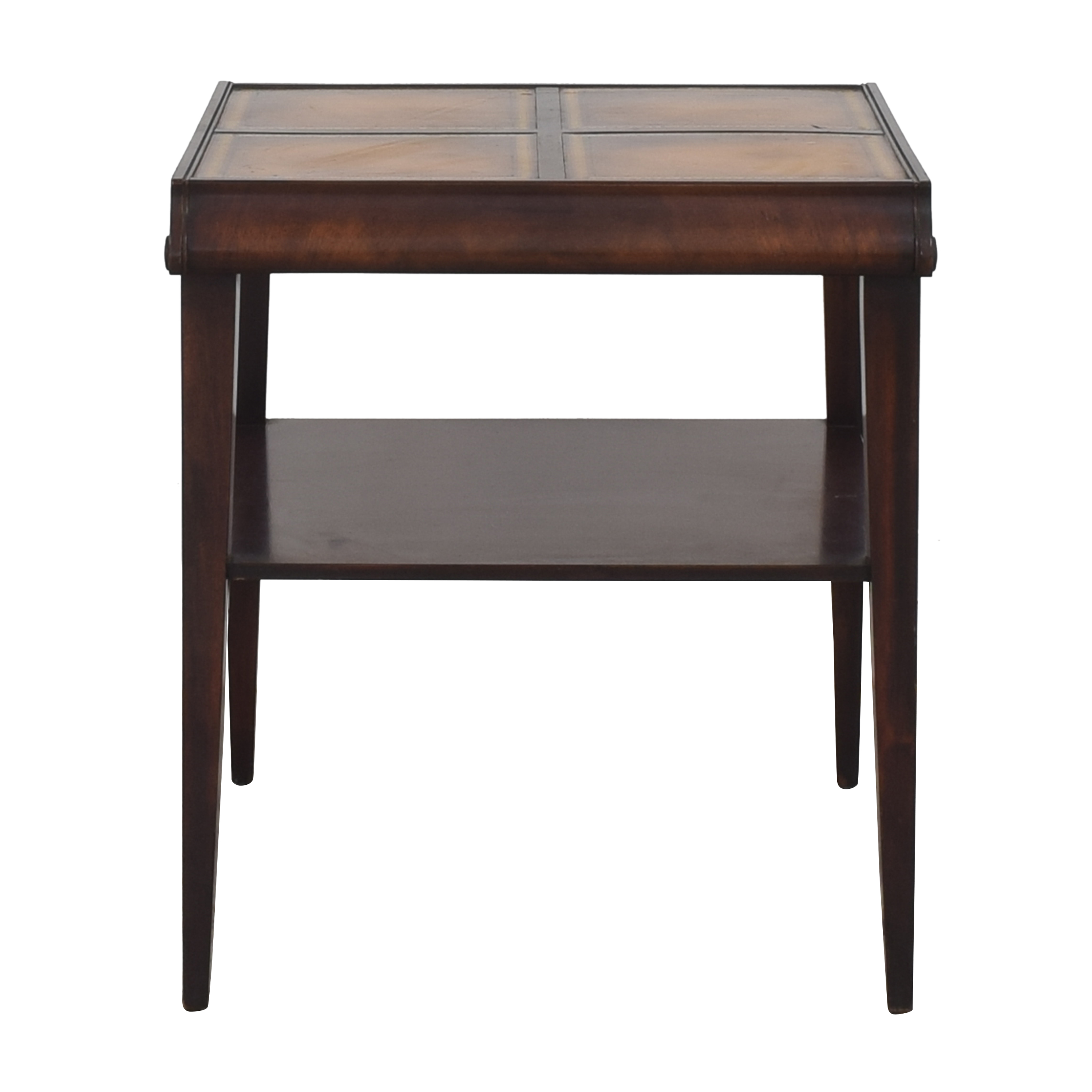 Vintage Style Tiered Accent Table