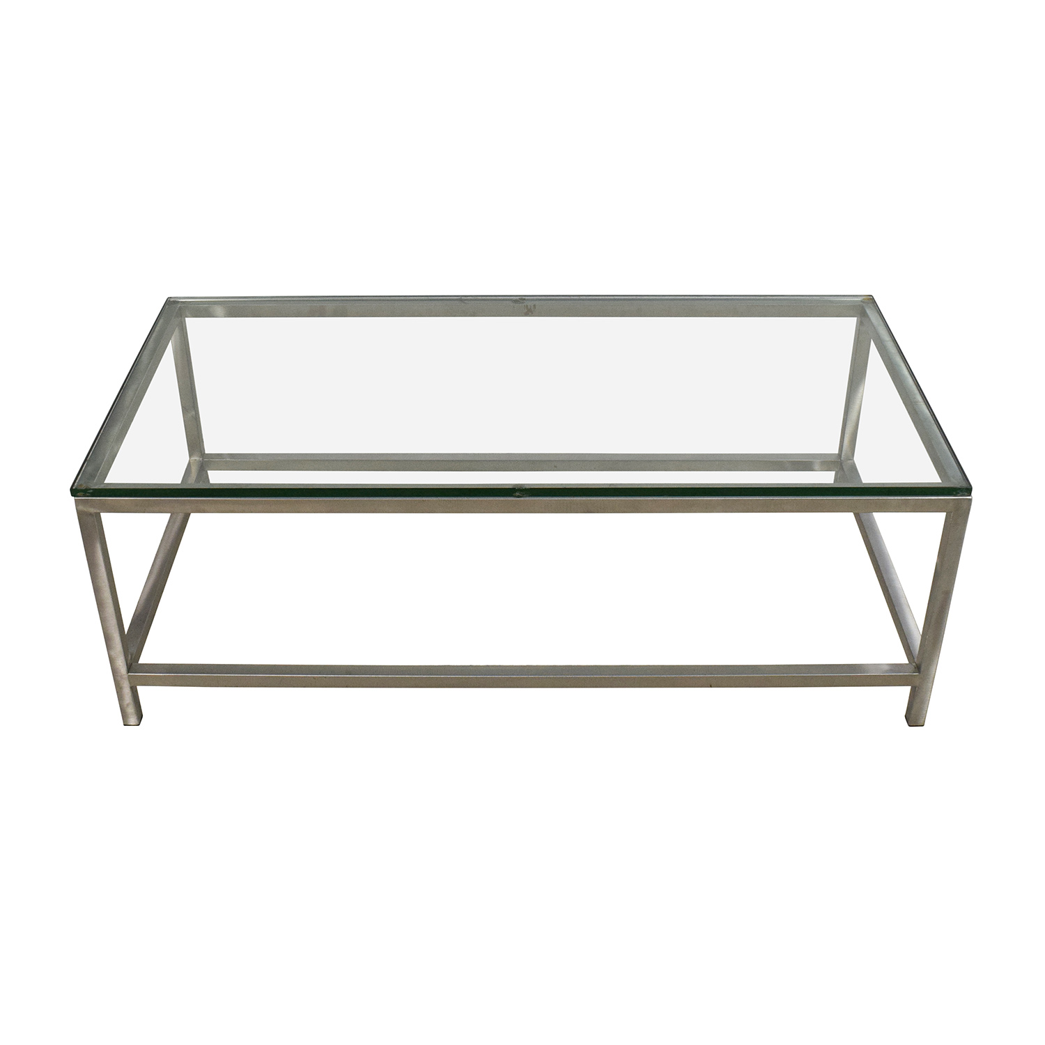 Rectangular glass top coffee table latest car engine for Rectangular coffee table with glass top