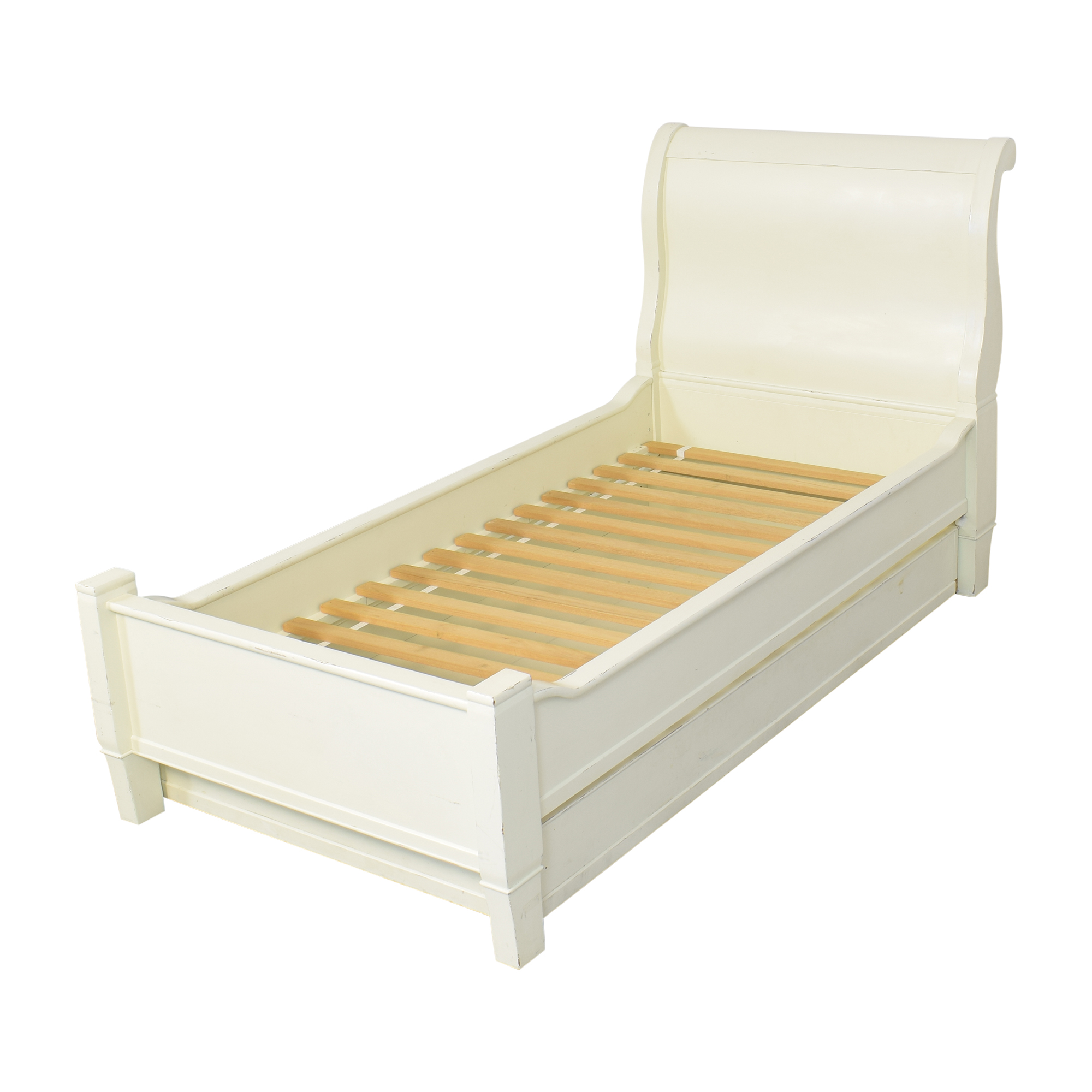 Pottery Barn Kids Pottery Barn Kids Twin Sleigh Bed with Trundle coupon
