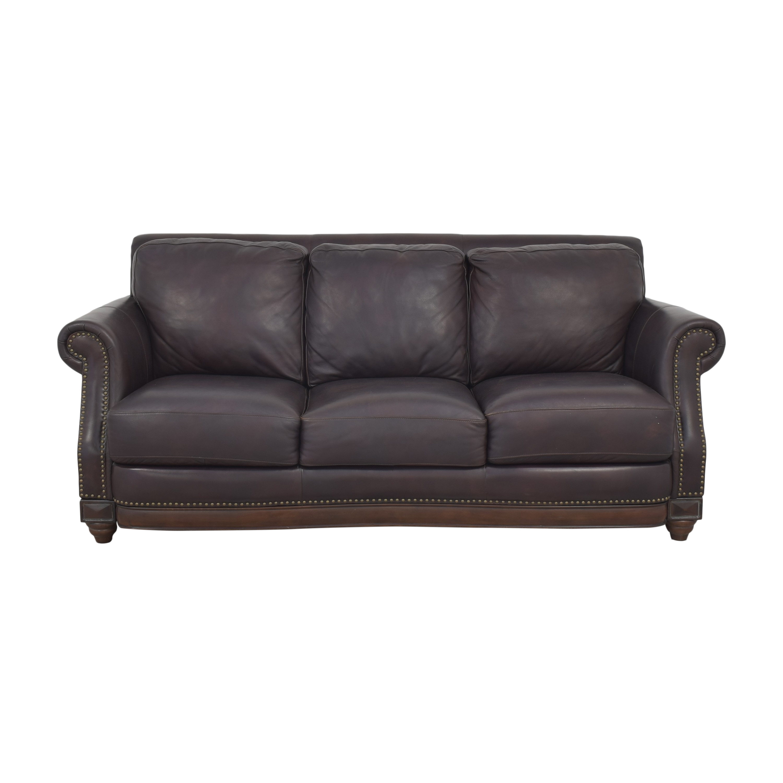 Three Cushion Roll Arm Sofa Classic Sofas